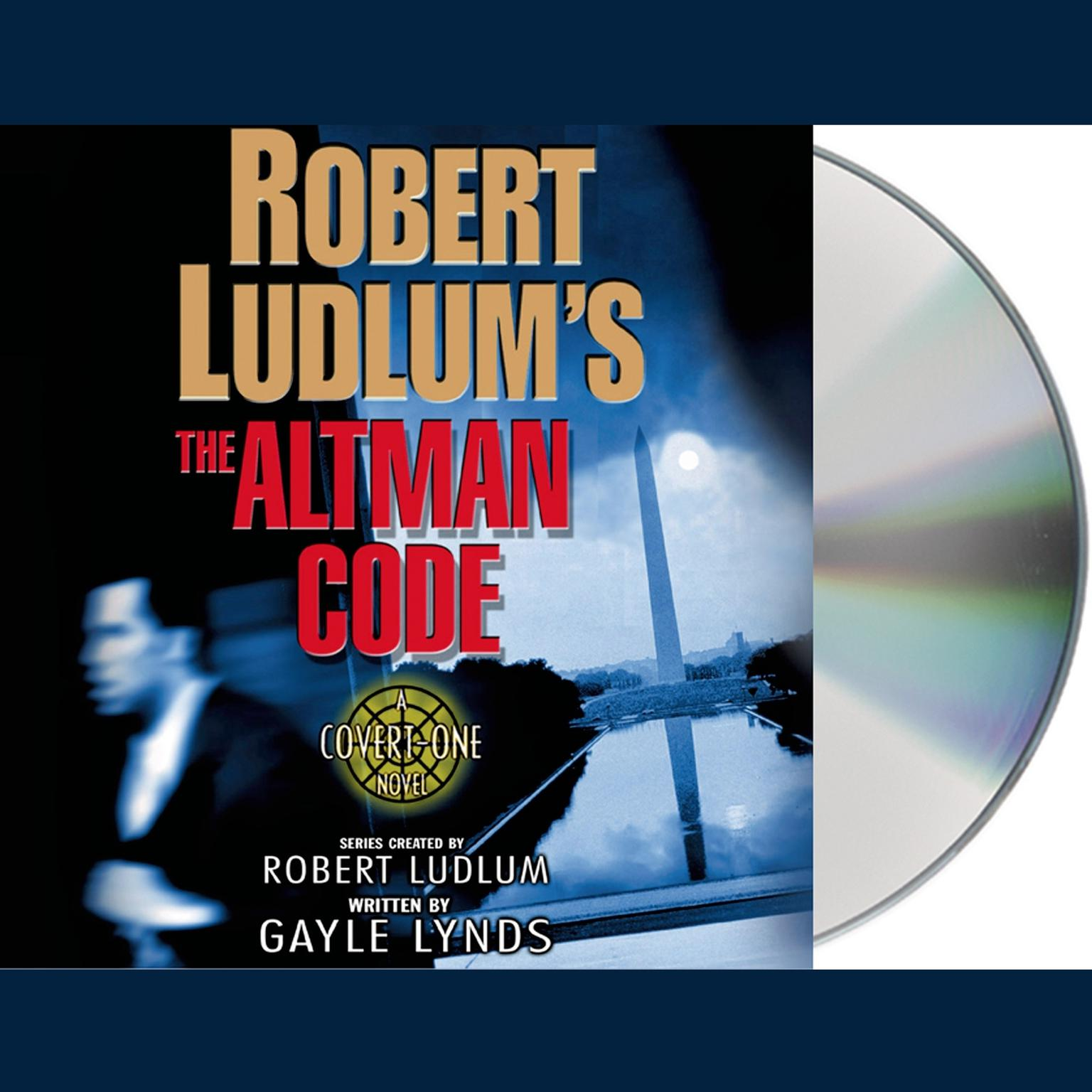 Printable Robert Ludlum's The Altman Code: A Covert-One Novel Audiobook Cover Art