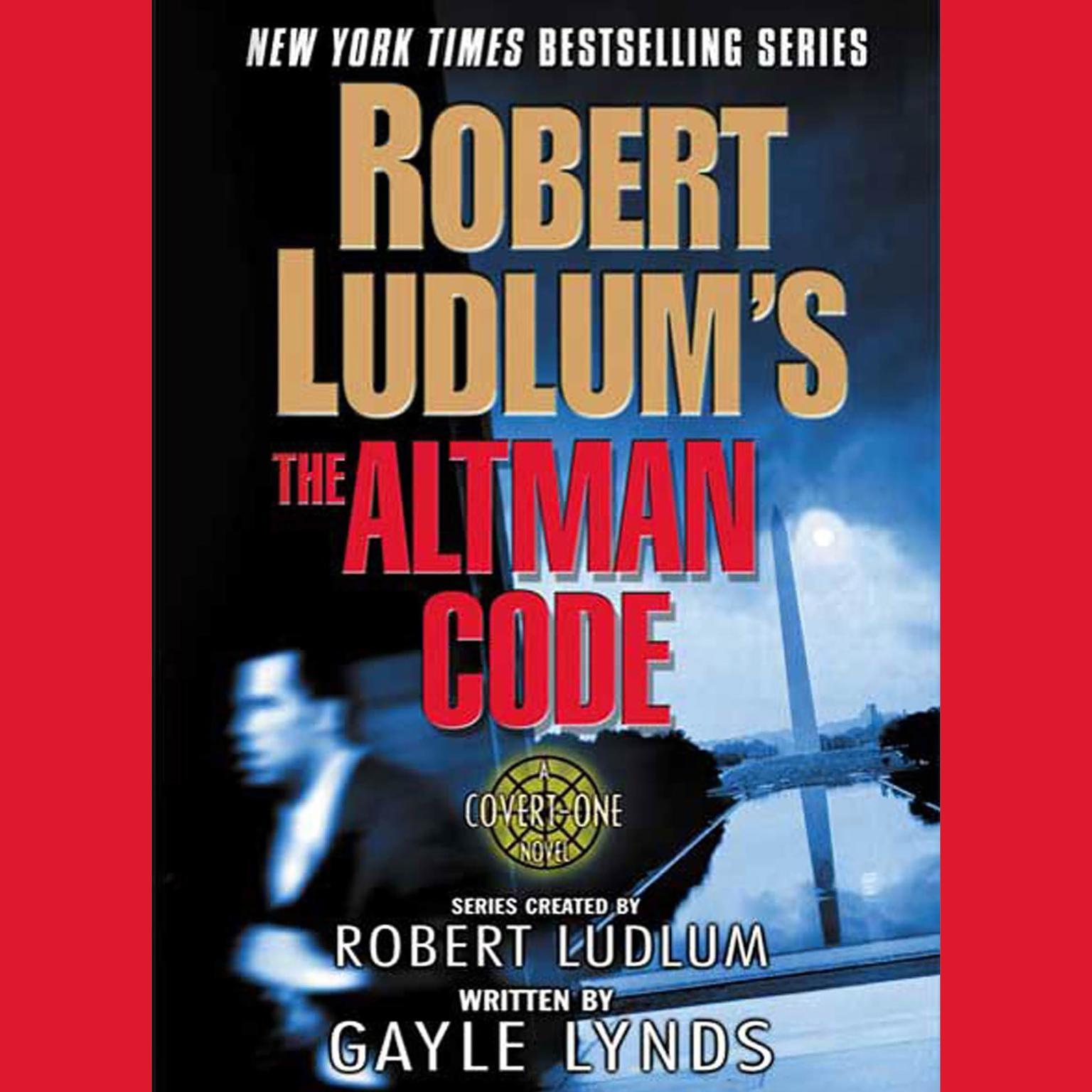 Printable Robert Ludlum's The Altman Code: A Covert-One Novel Audiobook Cover Art