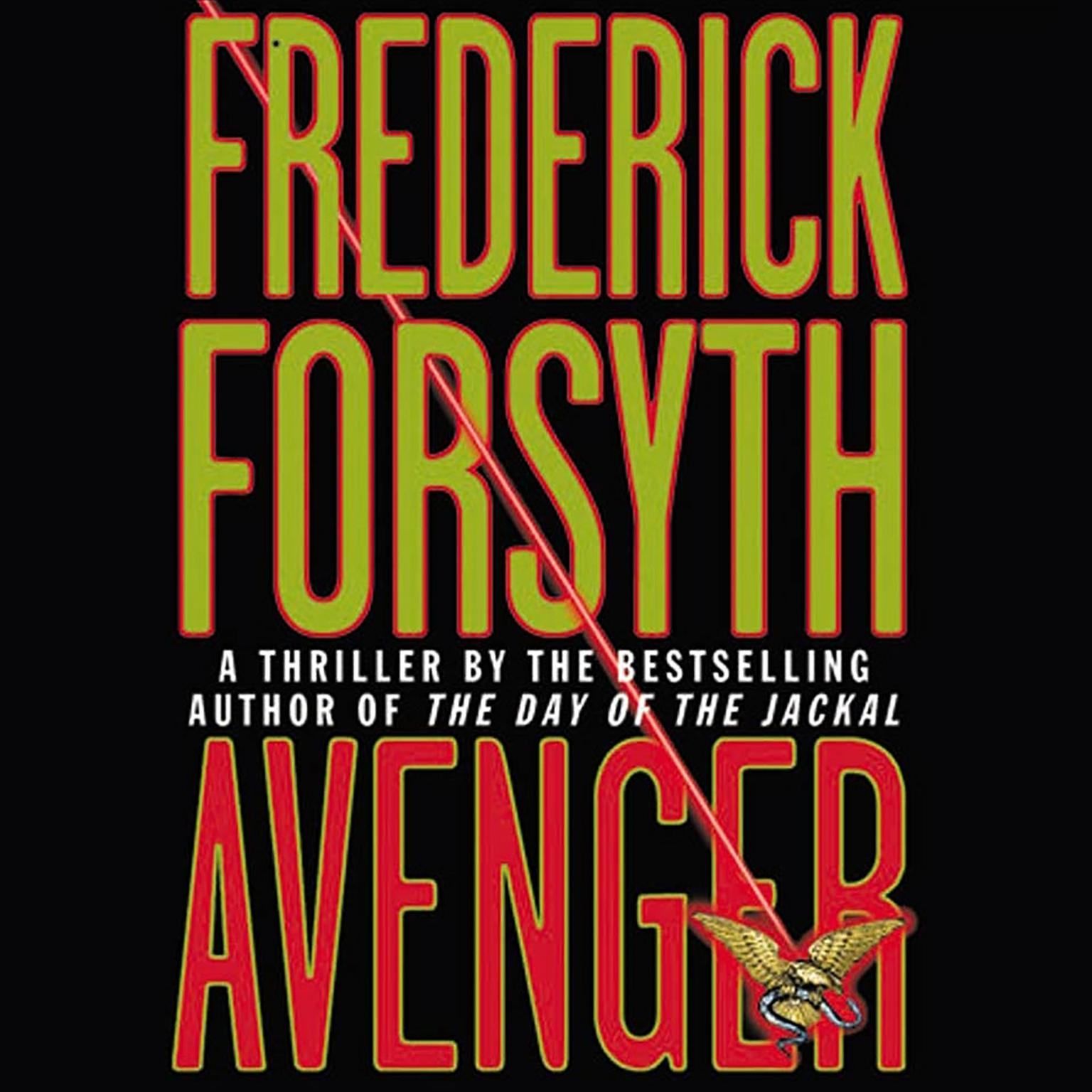 Printable Avenger Audiobook Cover Art