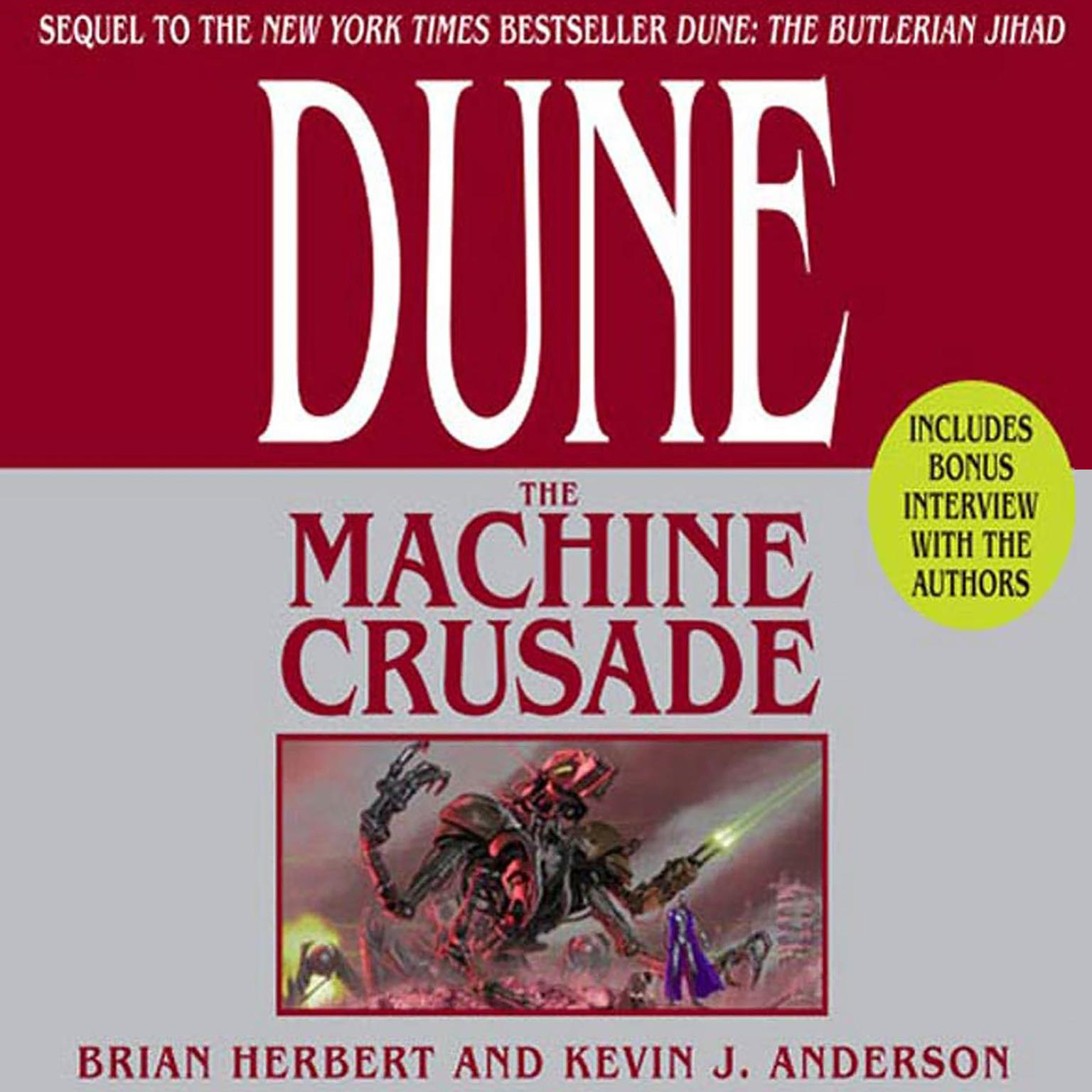 Printable Dune: The Machine Crusade: Limited Edition Audiobook Cover Art