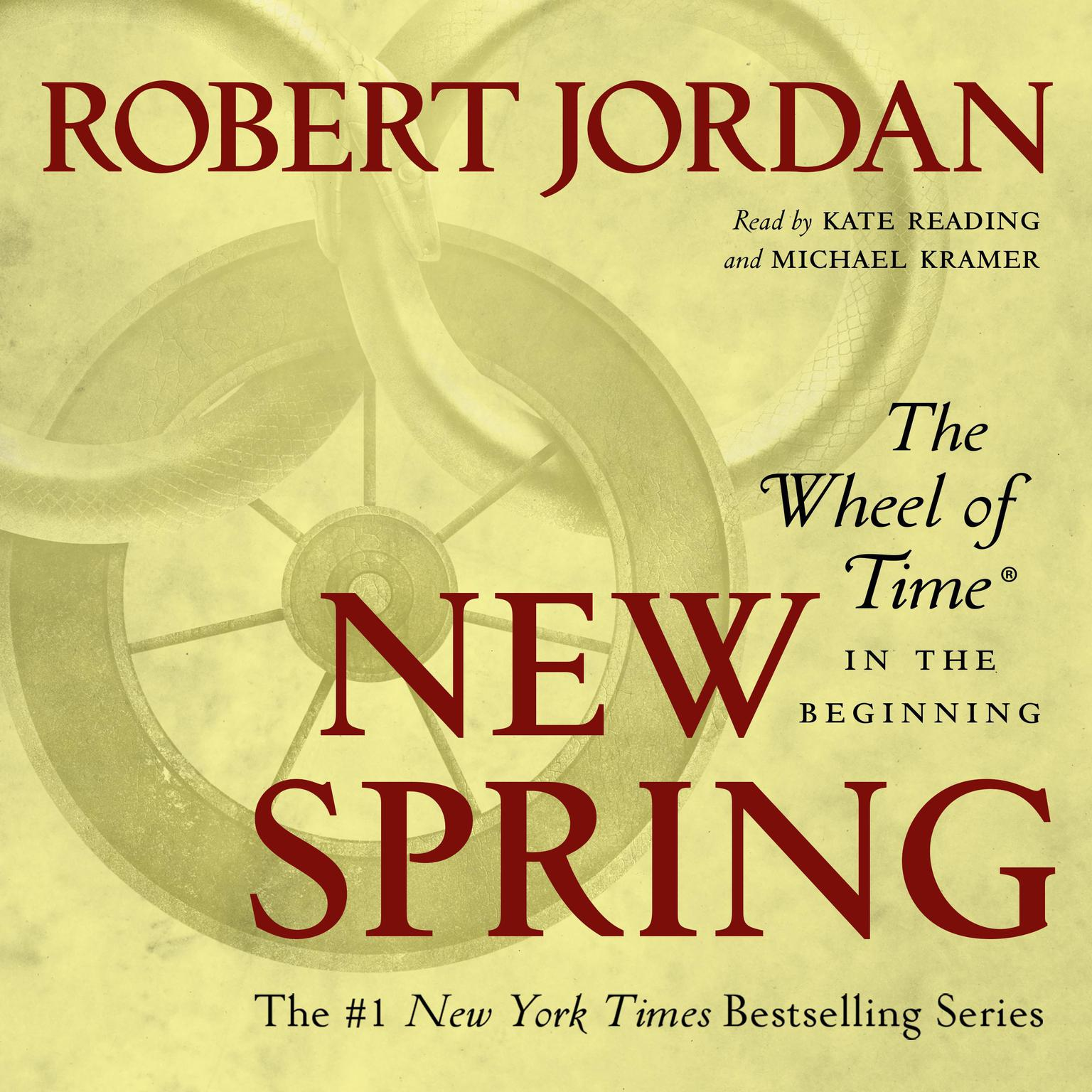 Printable New Spring: The Novel Audiobook Cover Art