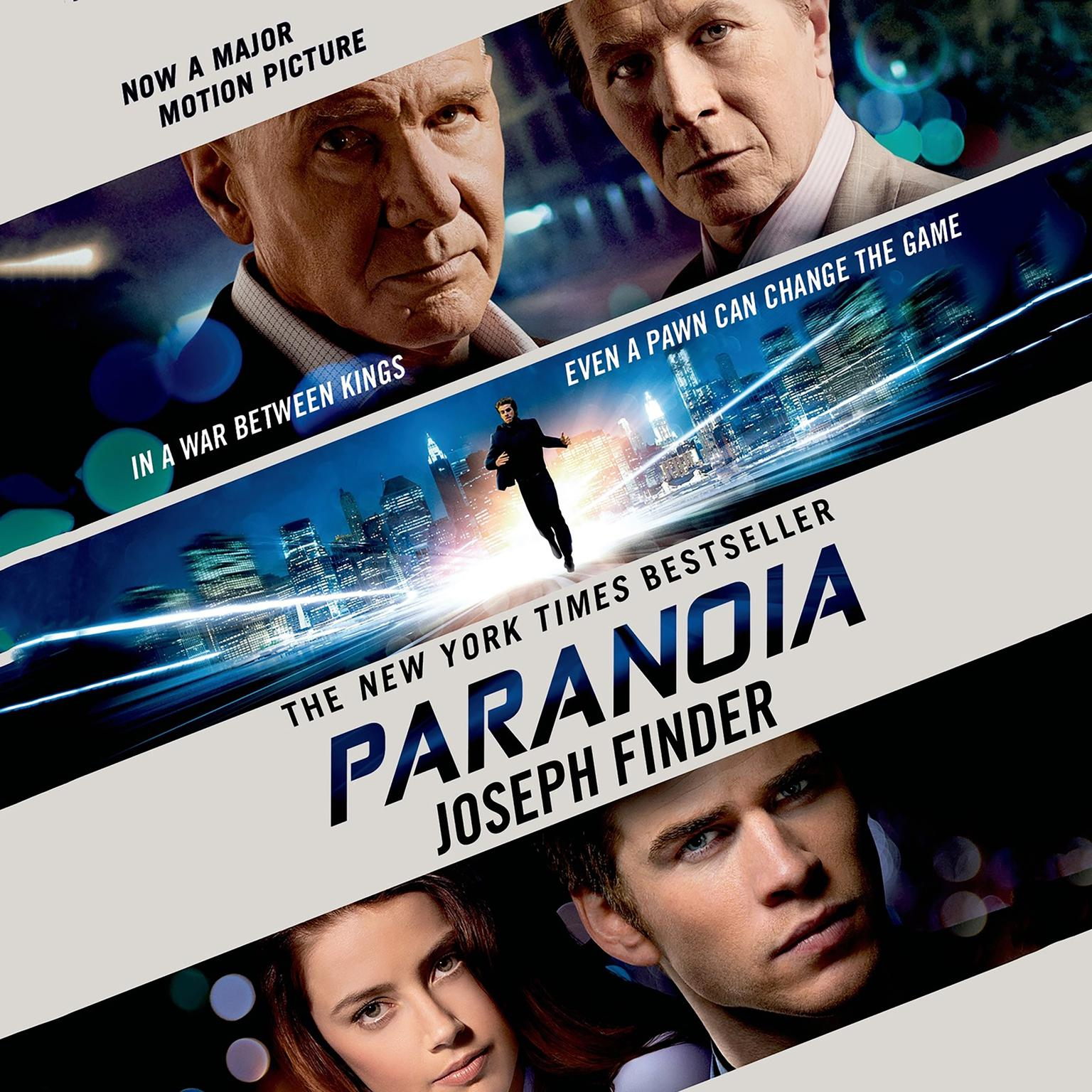 Printable Paranoia: A Novel Audiobook Cover Art