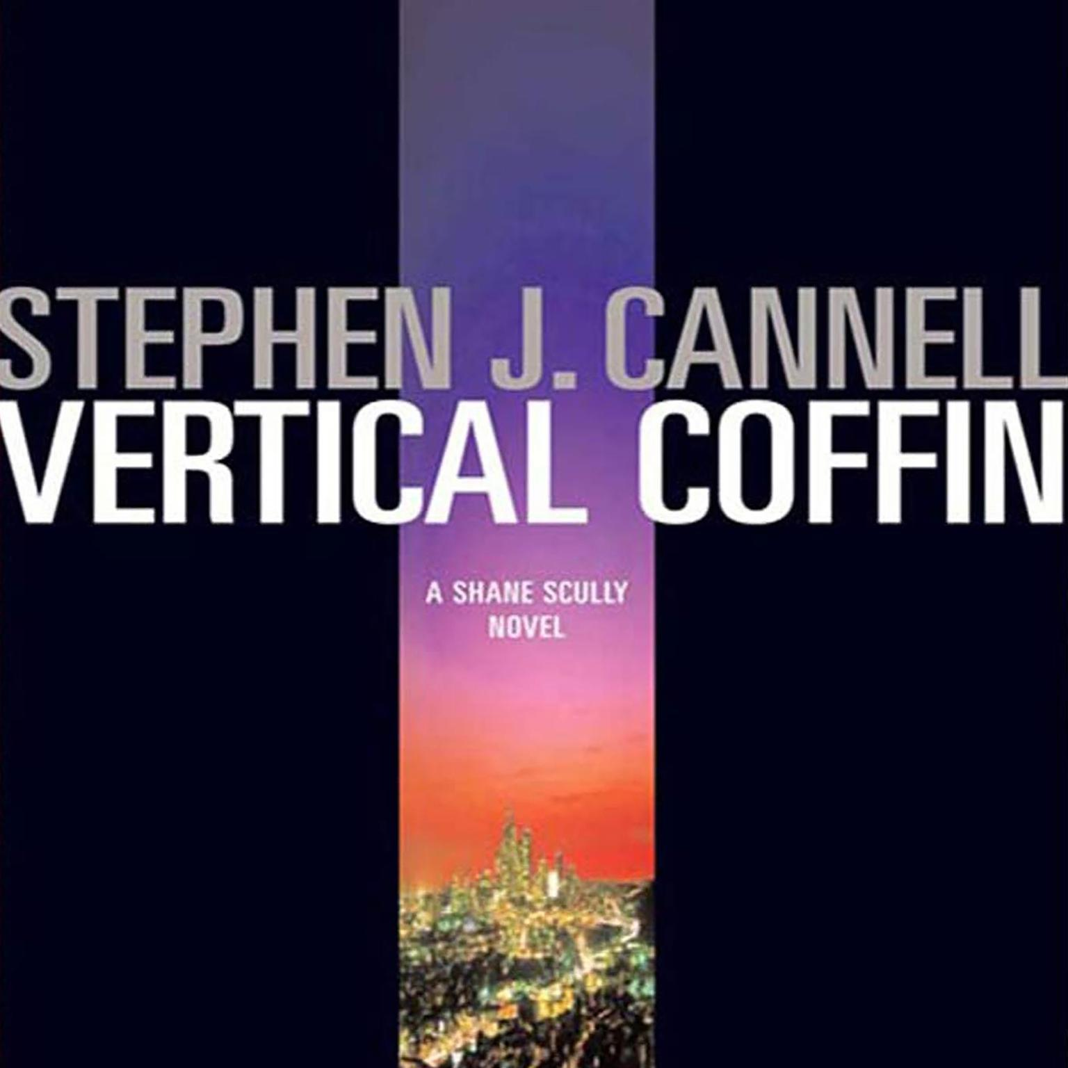 Printable Vertical Coffin: A Shane Scully Novel Audiobook Cover Art