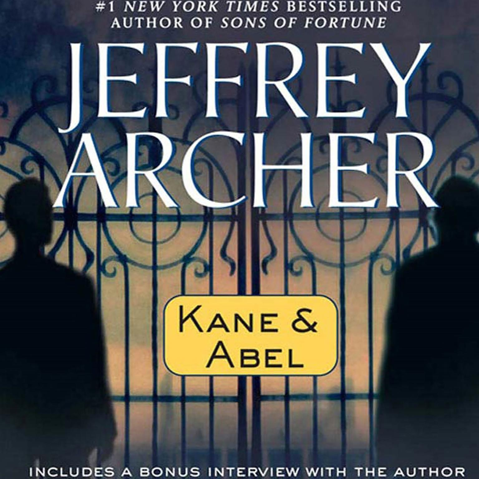Printable Kane and Abel Audiobook Cover Art