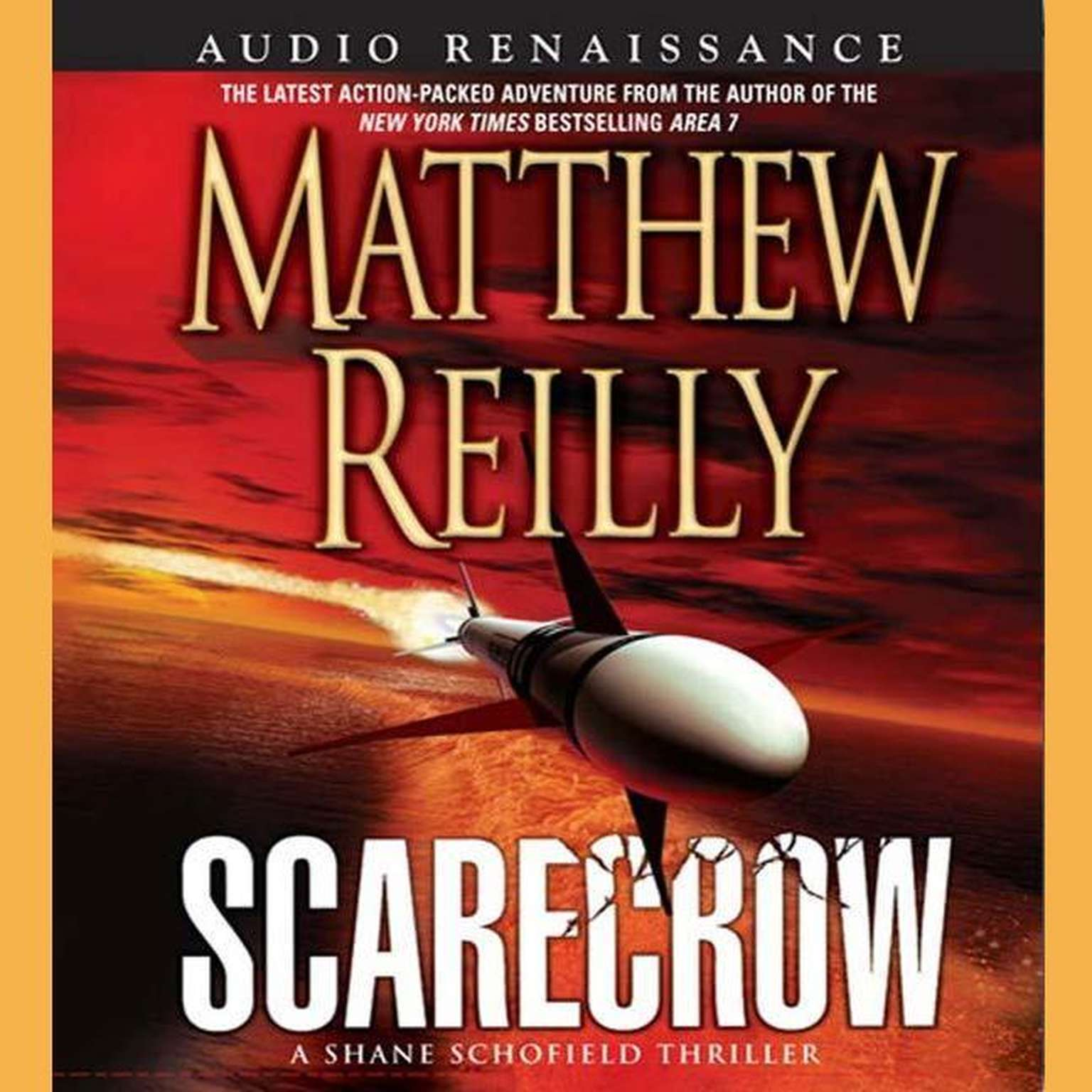 Printable Scarecrow: A Shane Schofield Thriller Audiobook Cover Art