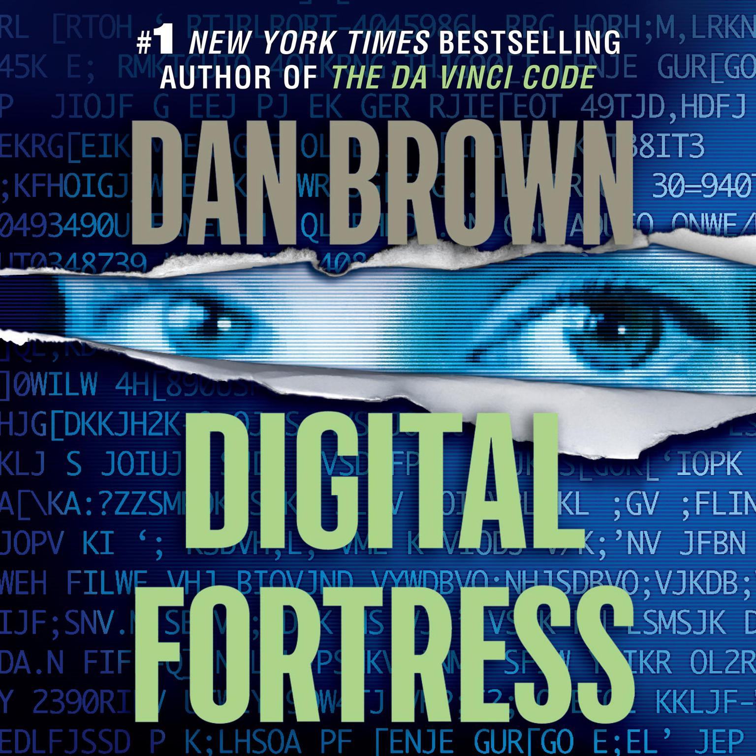 Printable Digital Fortress: A Thriller Audiobook Cover Art