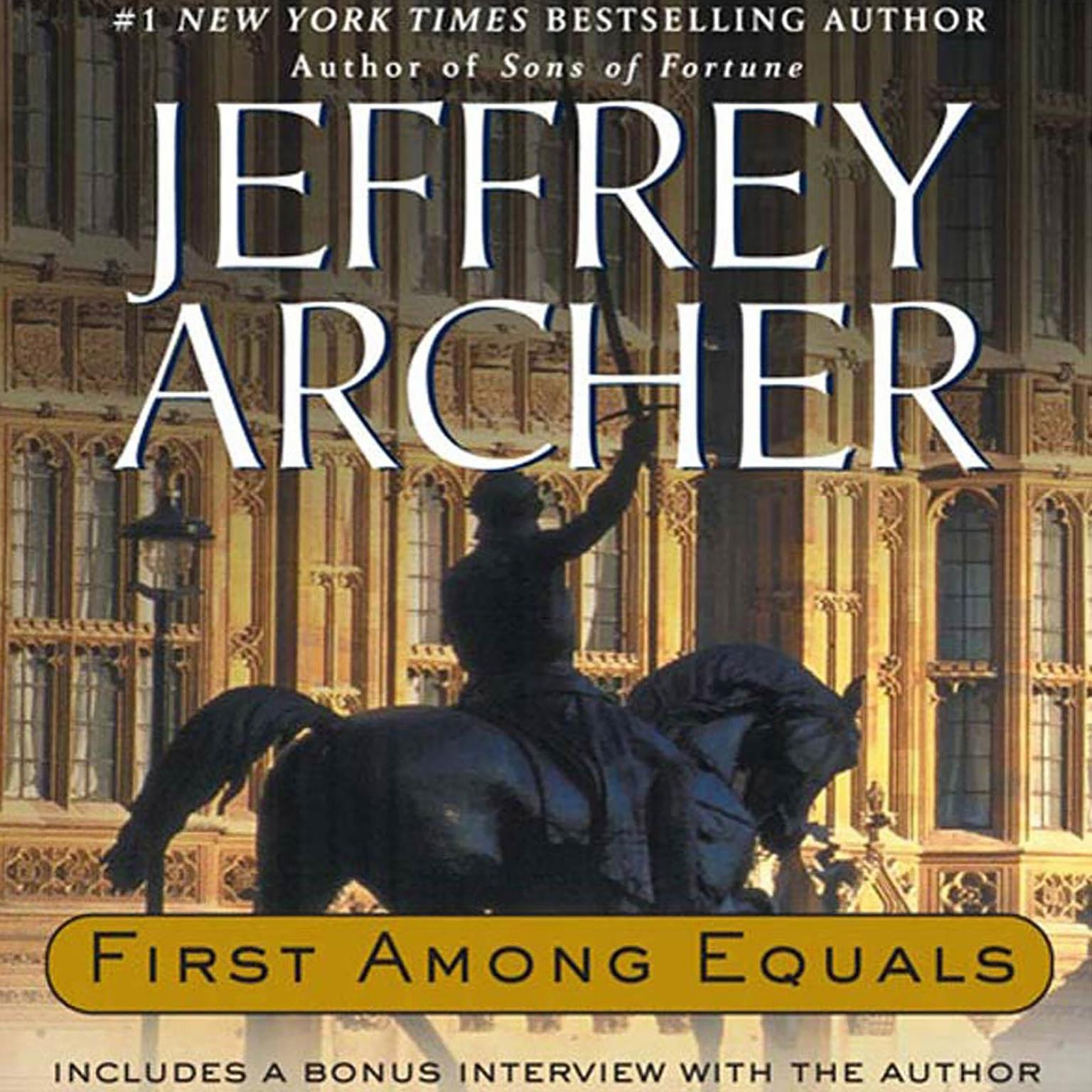 Printable First Among Equals Audiobook Cover Art