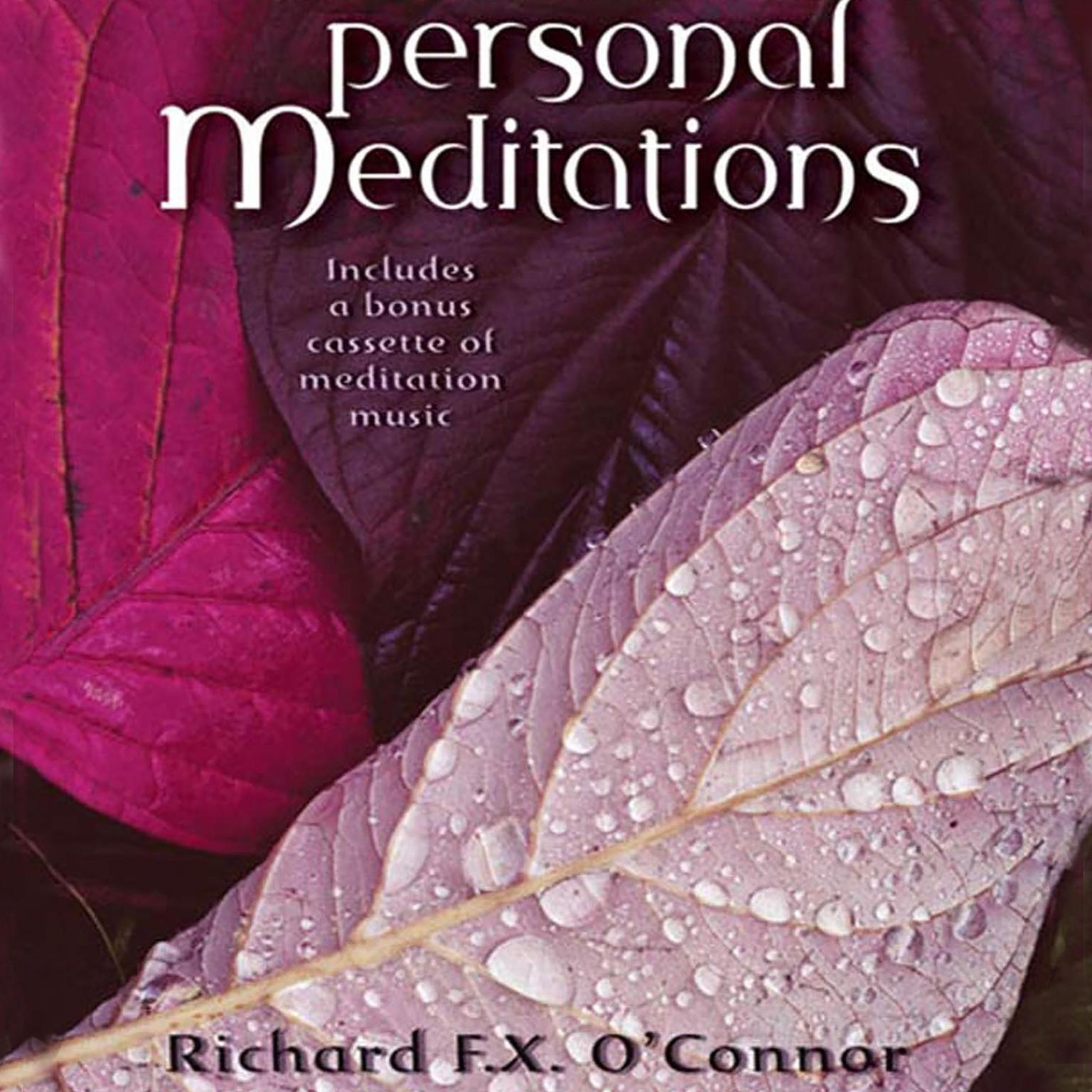 Printable Personal Meditations Audiobook Cover Art