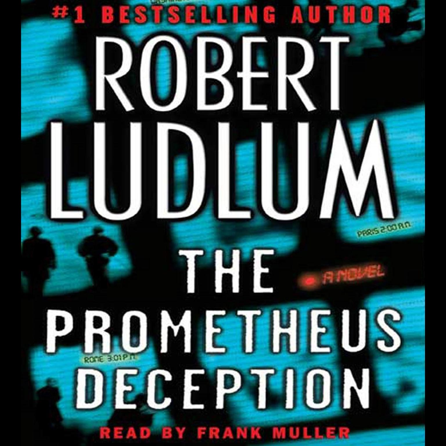 Printable The Prometheus Deception: A Novel Audiobook Cover Art