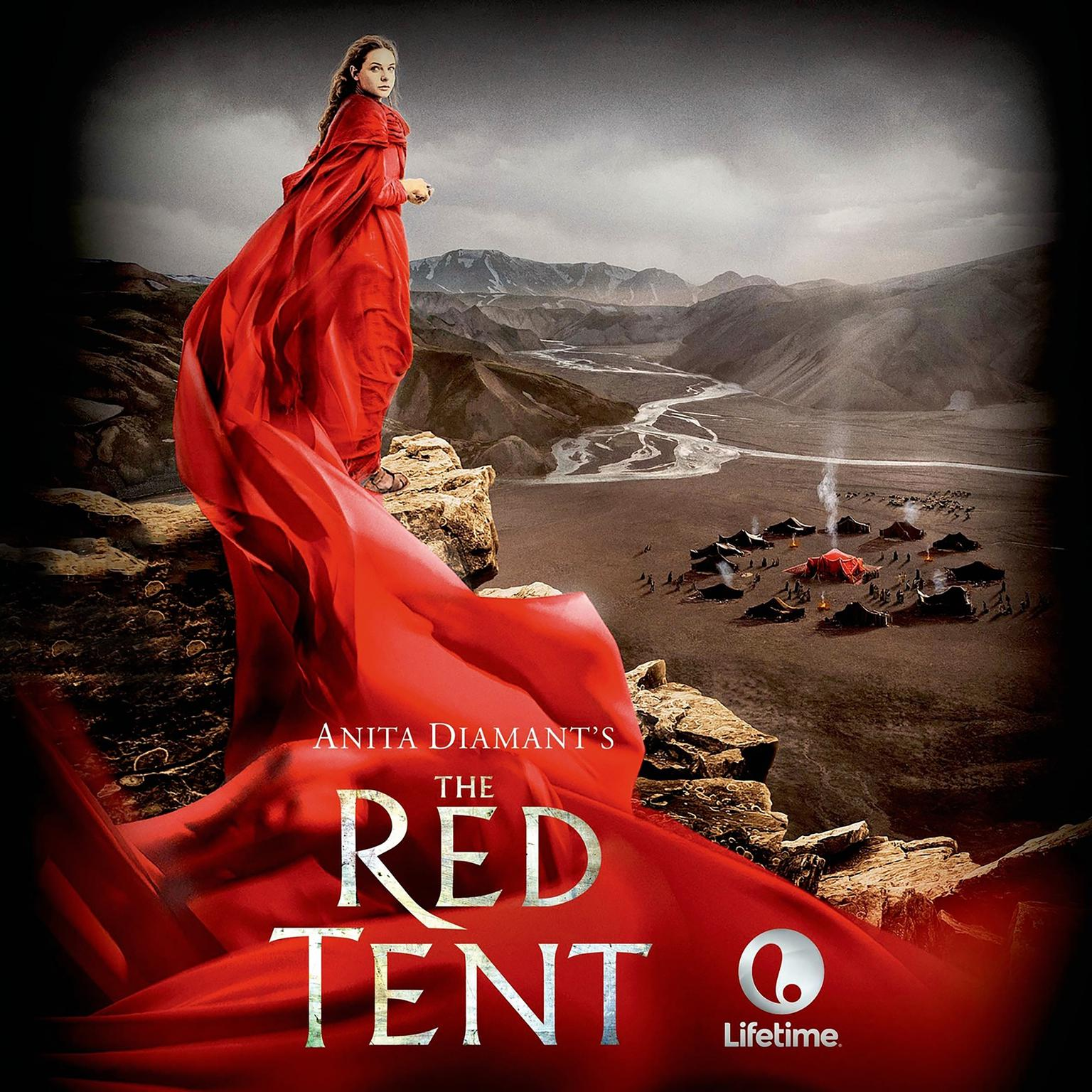 Printable The Red Tent - 20th Anniversary Edition: A Novel Audiobook Cover Art
