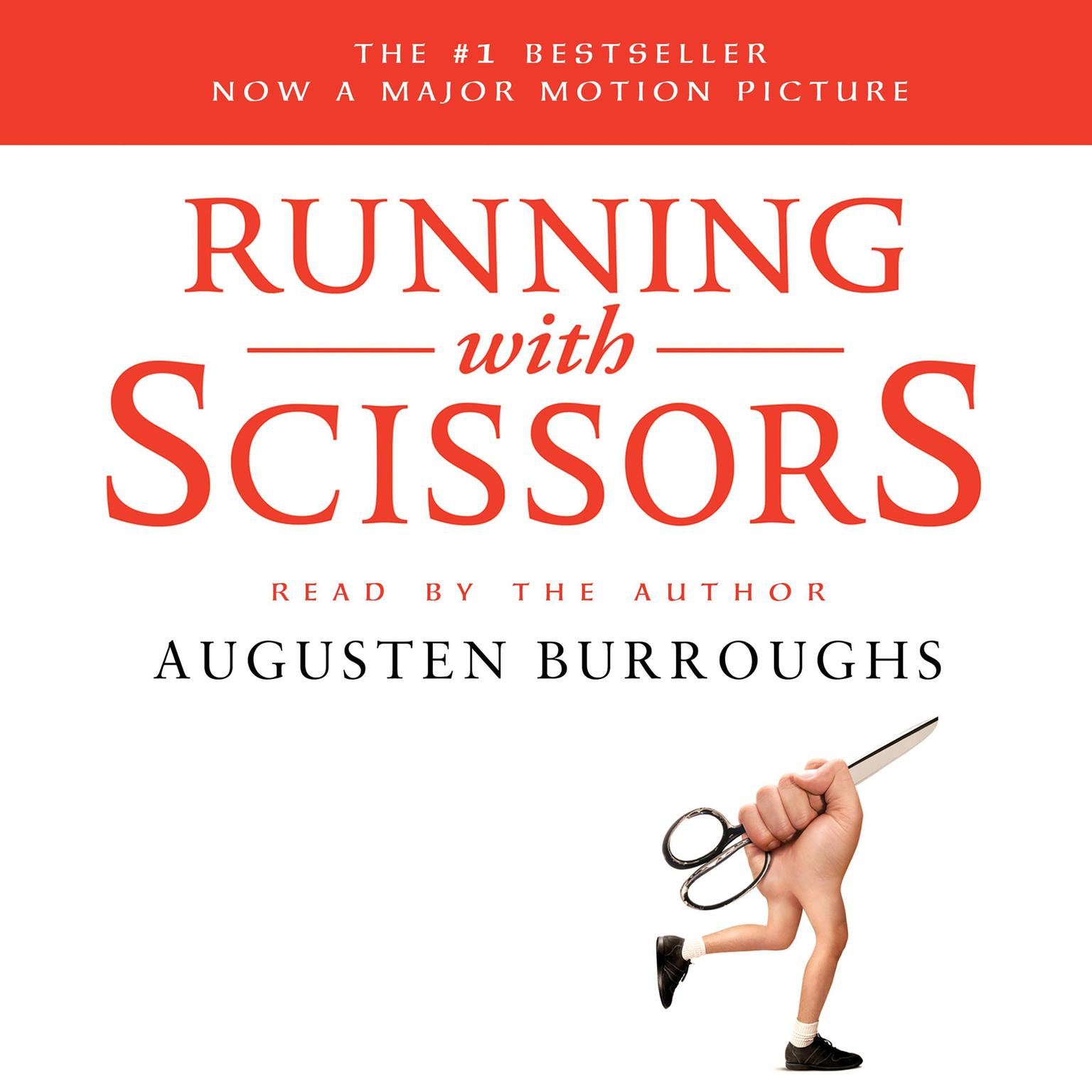 Printable Running with Scissors: A Memoir Audiobook Cover Art