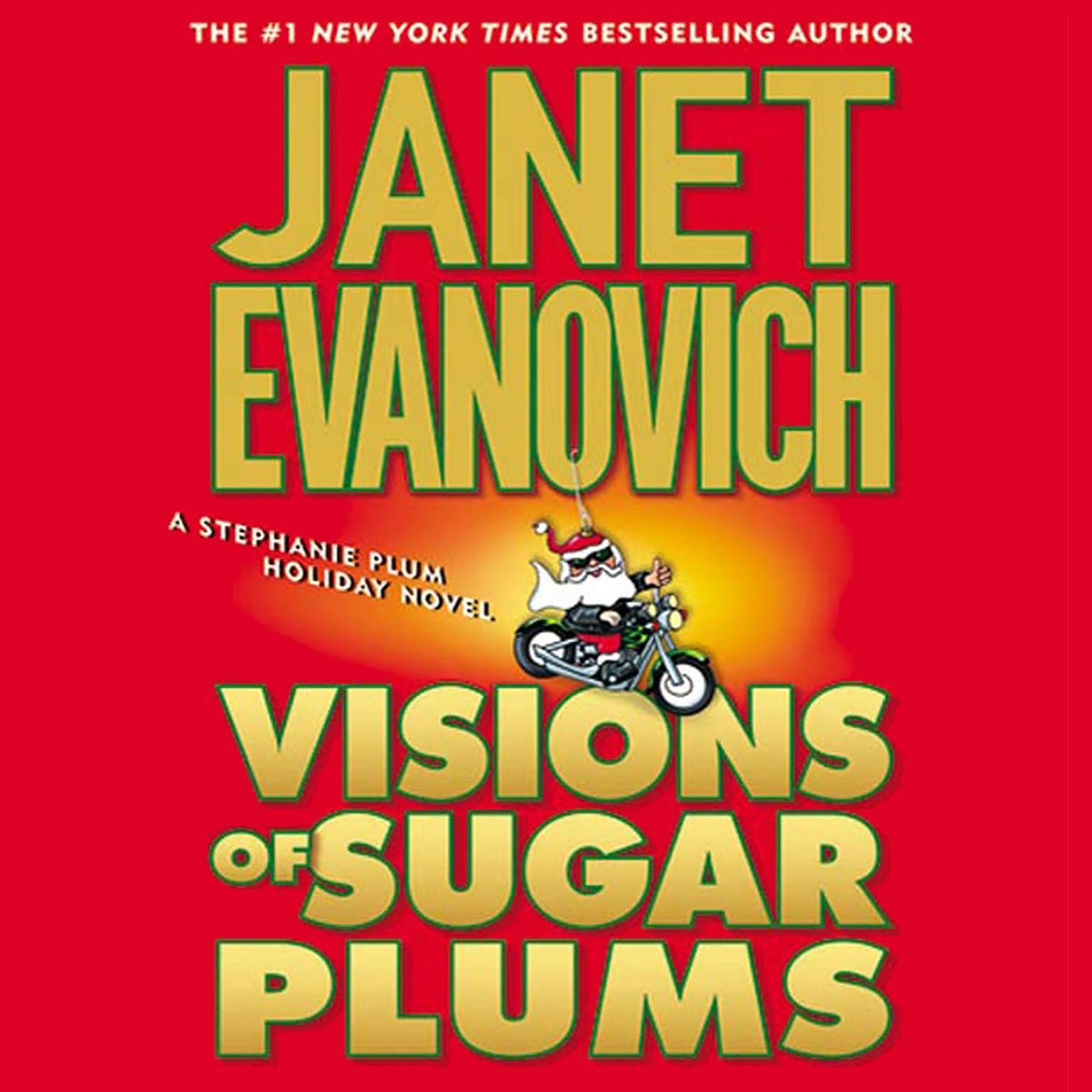 Printable Visions of Sugar Plums: A Stephanie Plum Holiday Novel Audiobook Cover Art
