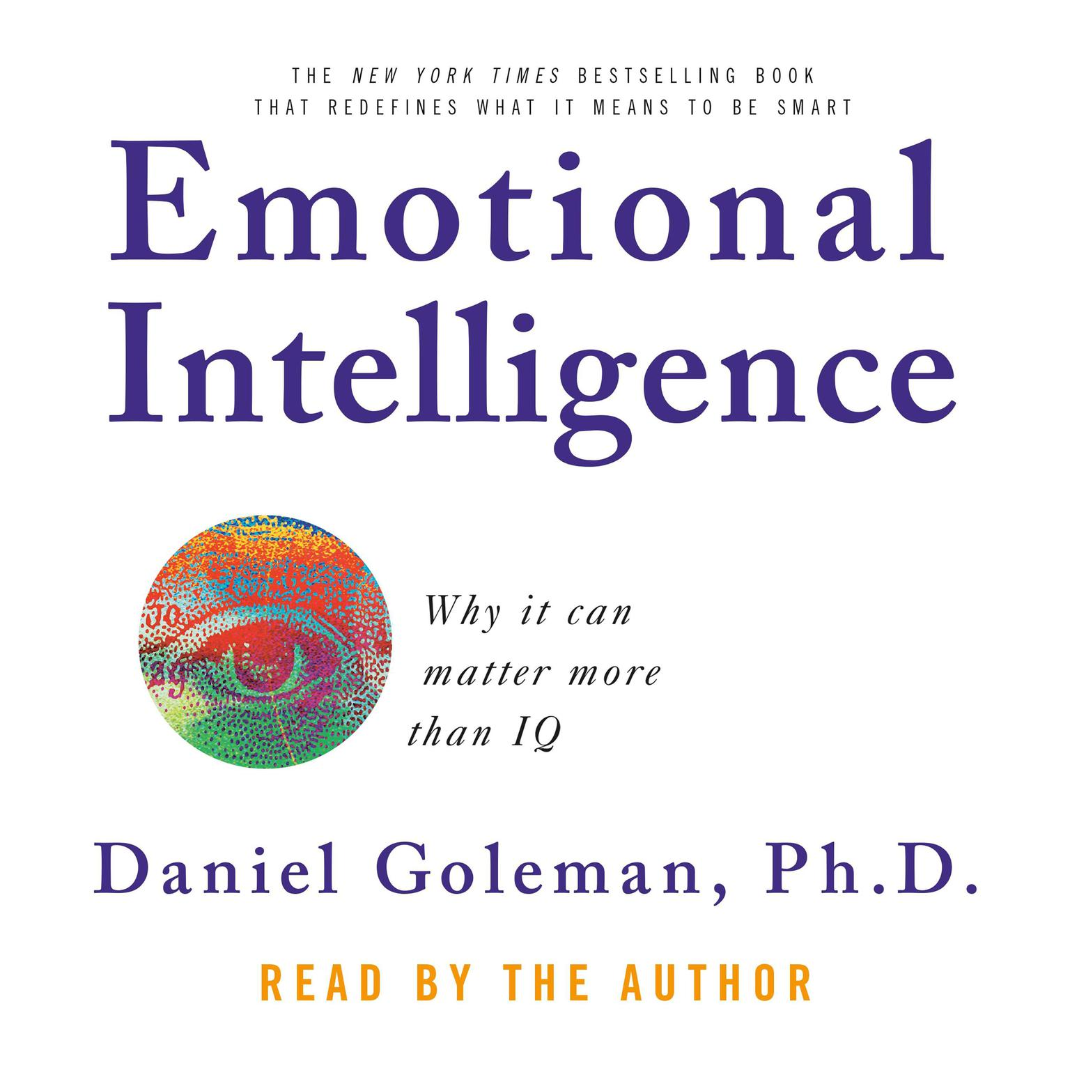 Printable Emotional Intelligence: Why It Can Matter More Than IQ Audiobook Cover Art