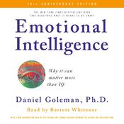 Emotional Intelligence: Why it can matter more than IQ Audiobook, by Daniel Goleman