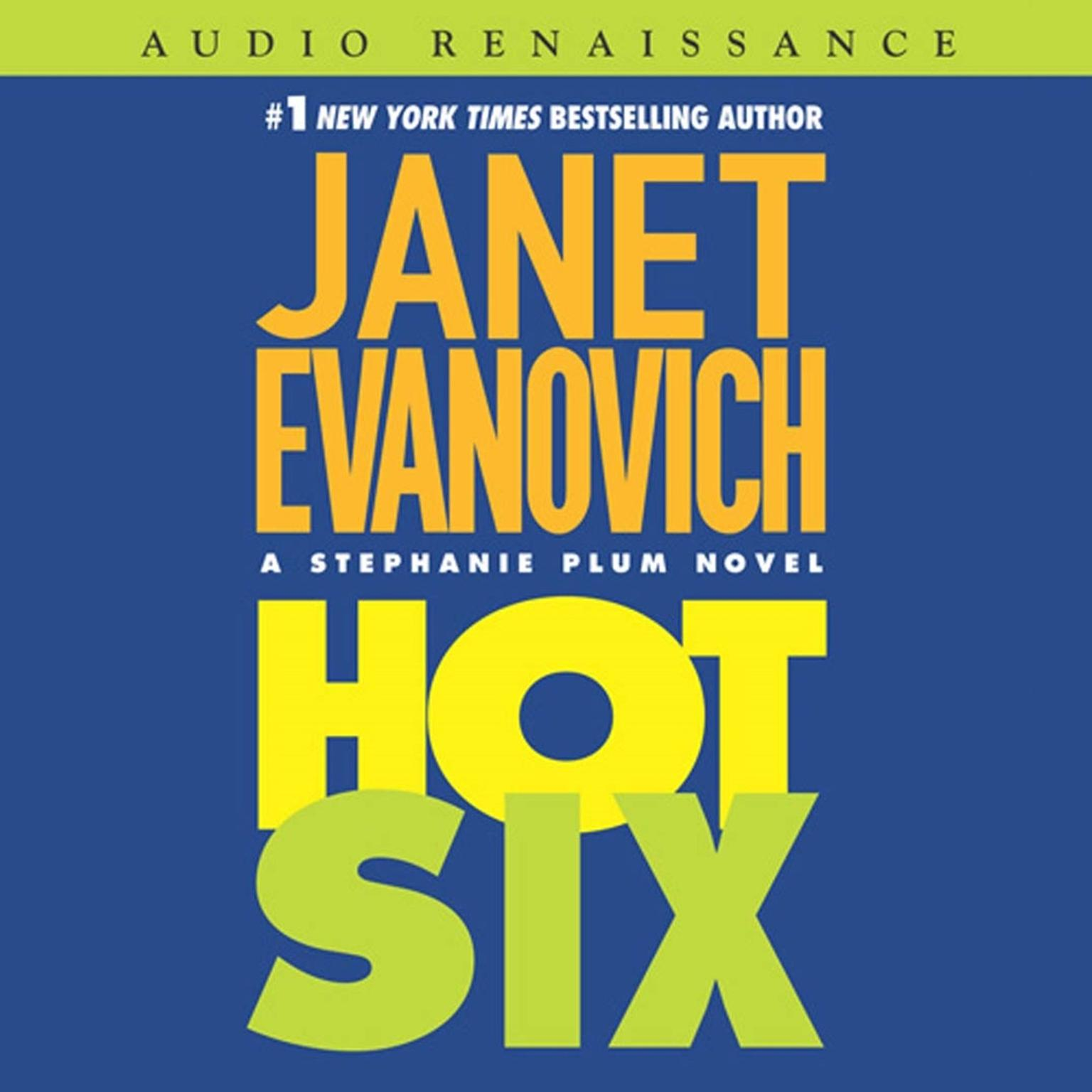 Printable Hot Six (Abridged): A Stephanie Plum Novel Audiobook Cover Art