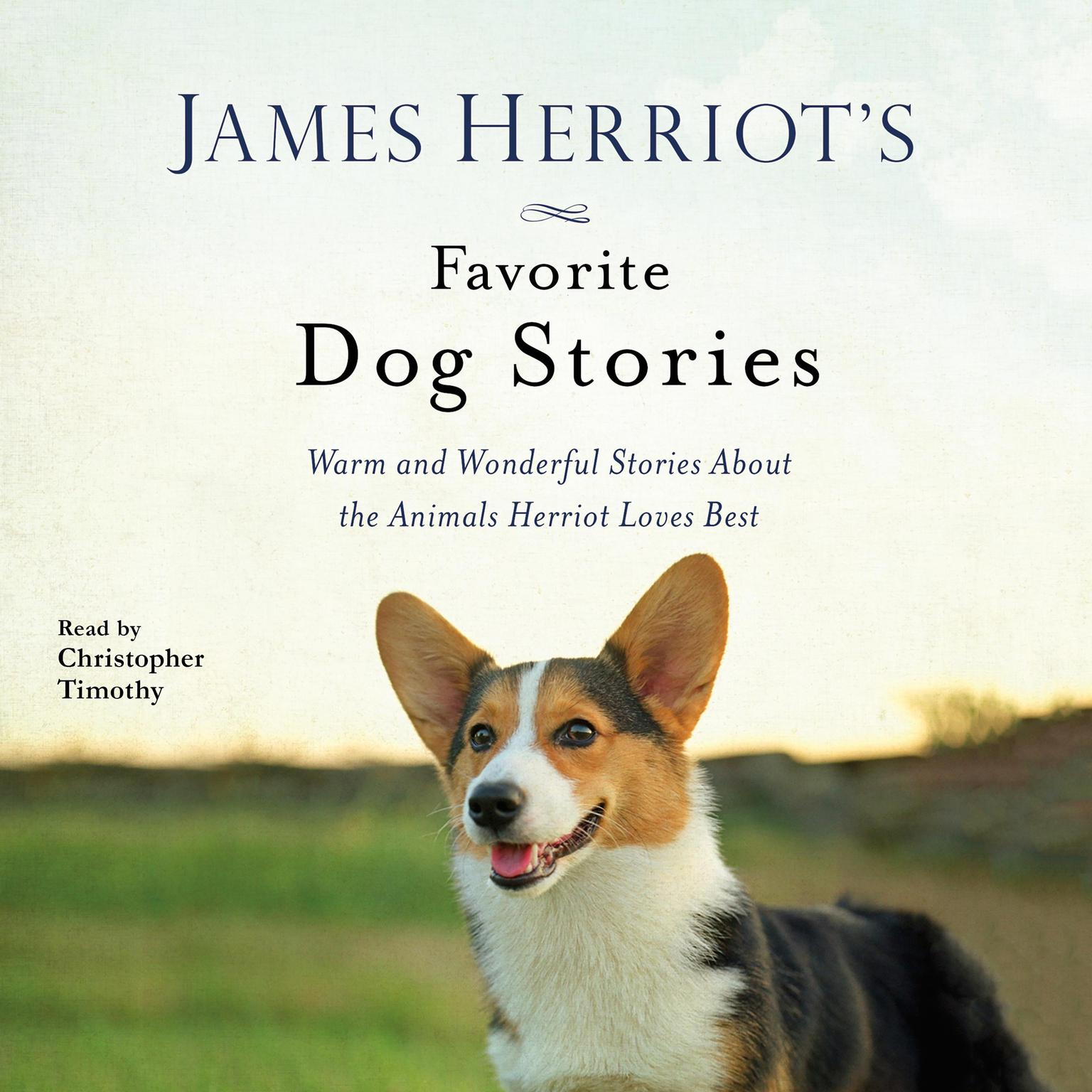 Printable James Herriot's Favorite Dog Stories Audiobook Cover Art