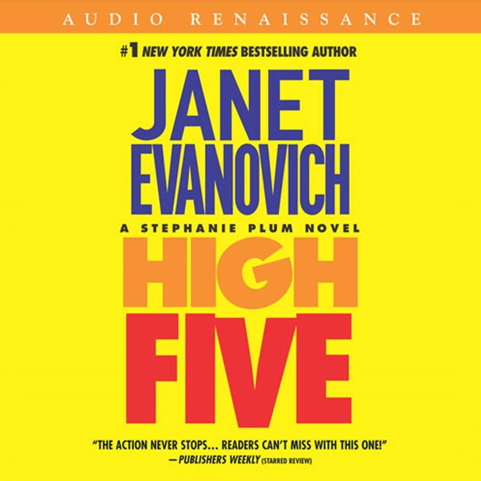Printable High Five Audiobook Cover Art