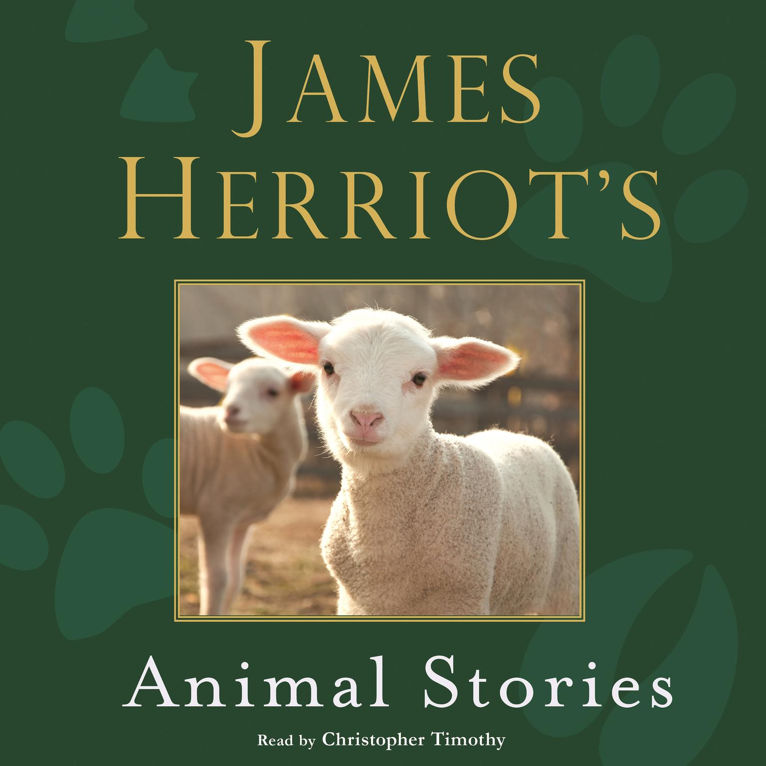 Printable James Herriot's Animal Stories Audiobook Cover Art