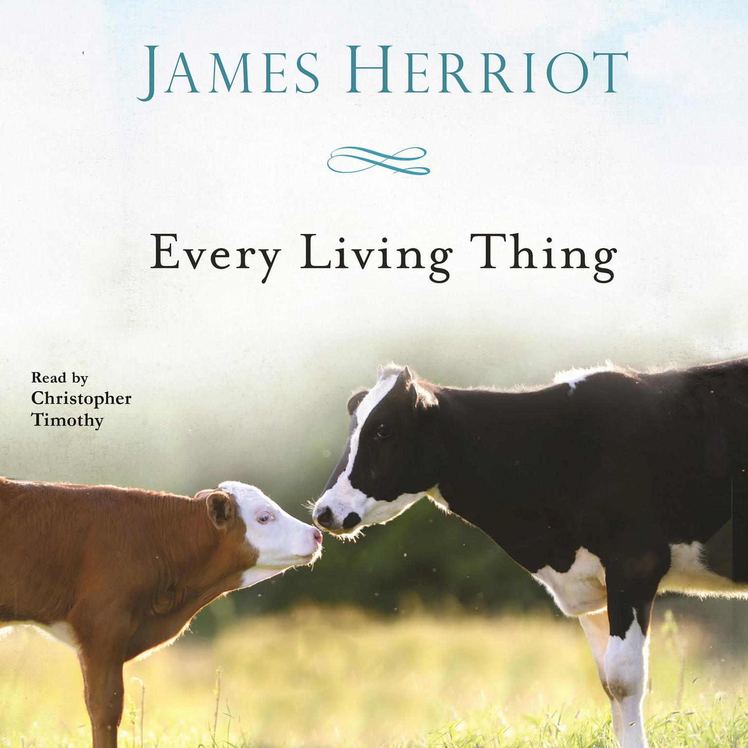 Printable Every Living Thing Audiobook Cover Art