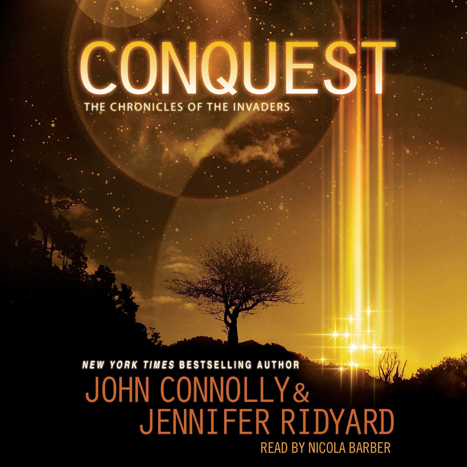 Printable Conquest: The Chronicles of the Invaders: Book 1 Audiobook Cover Art
