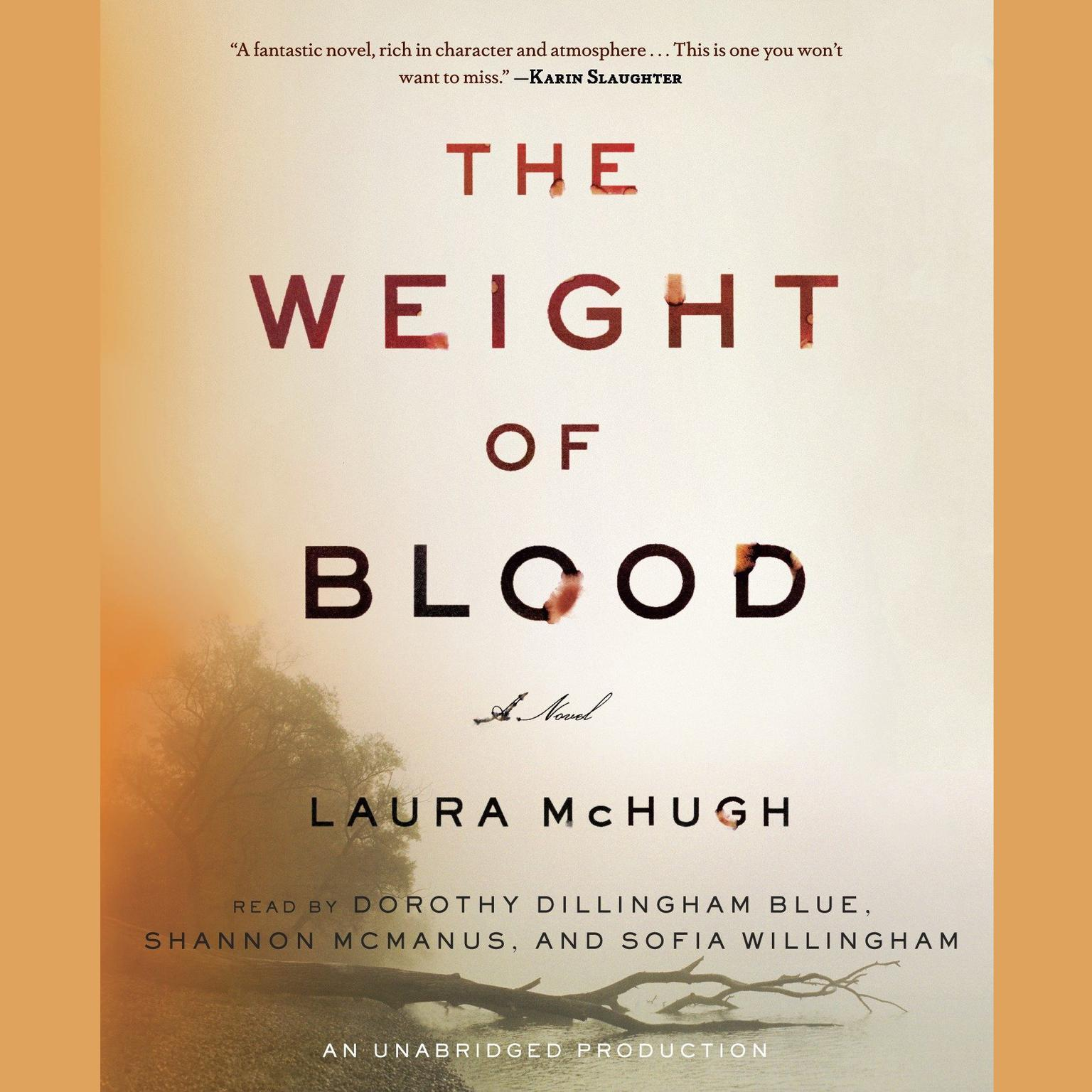 Printable The Weight of Blood: A Novel Audiobook Cover Art