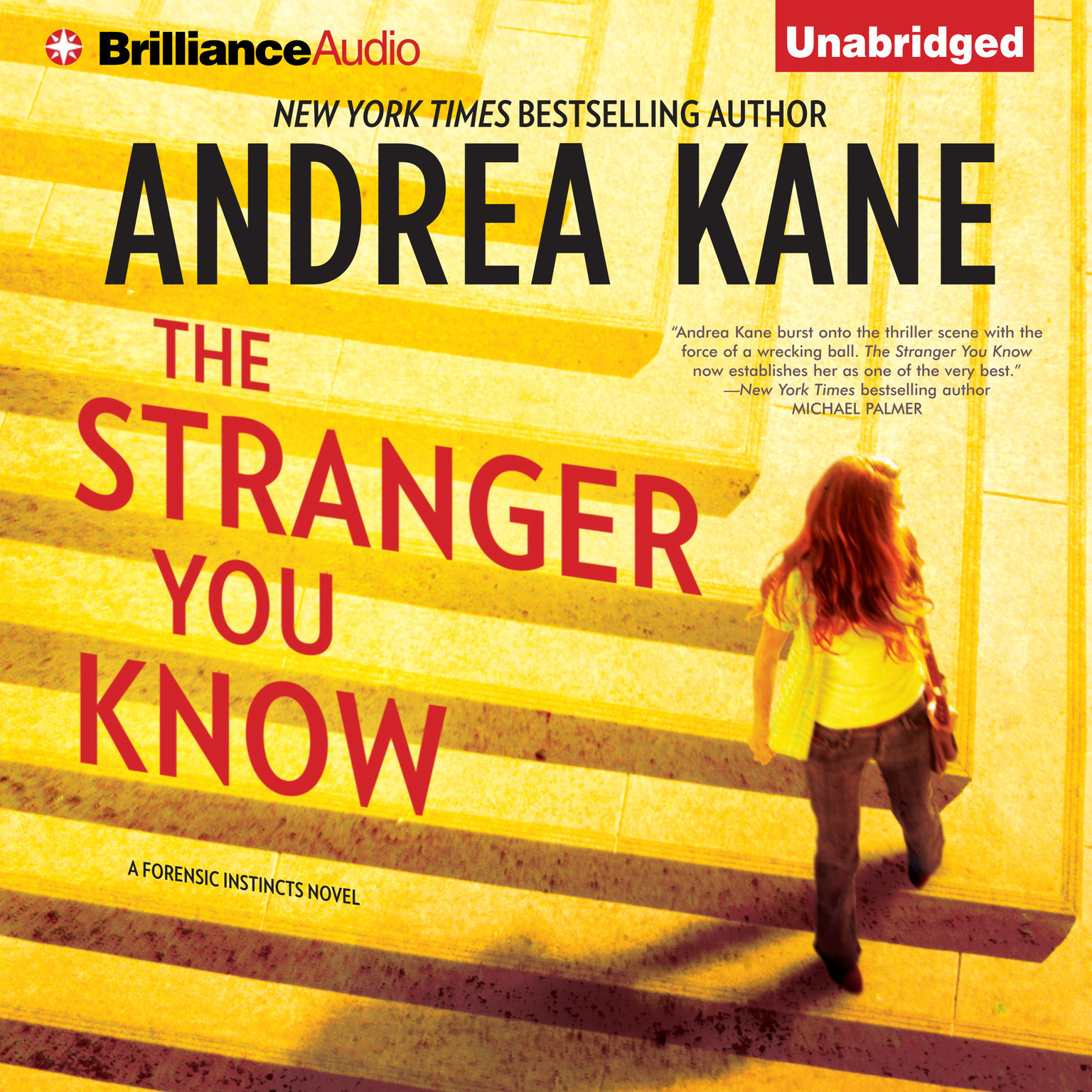 Printable The Stranger You Know Audiobook Cover Art