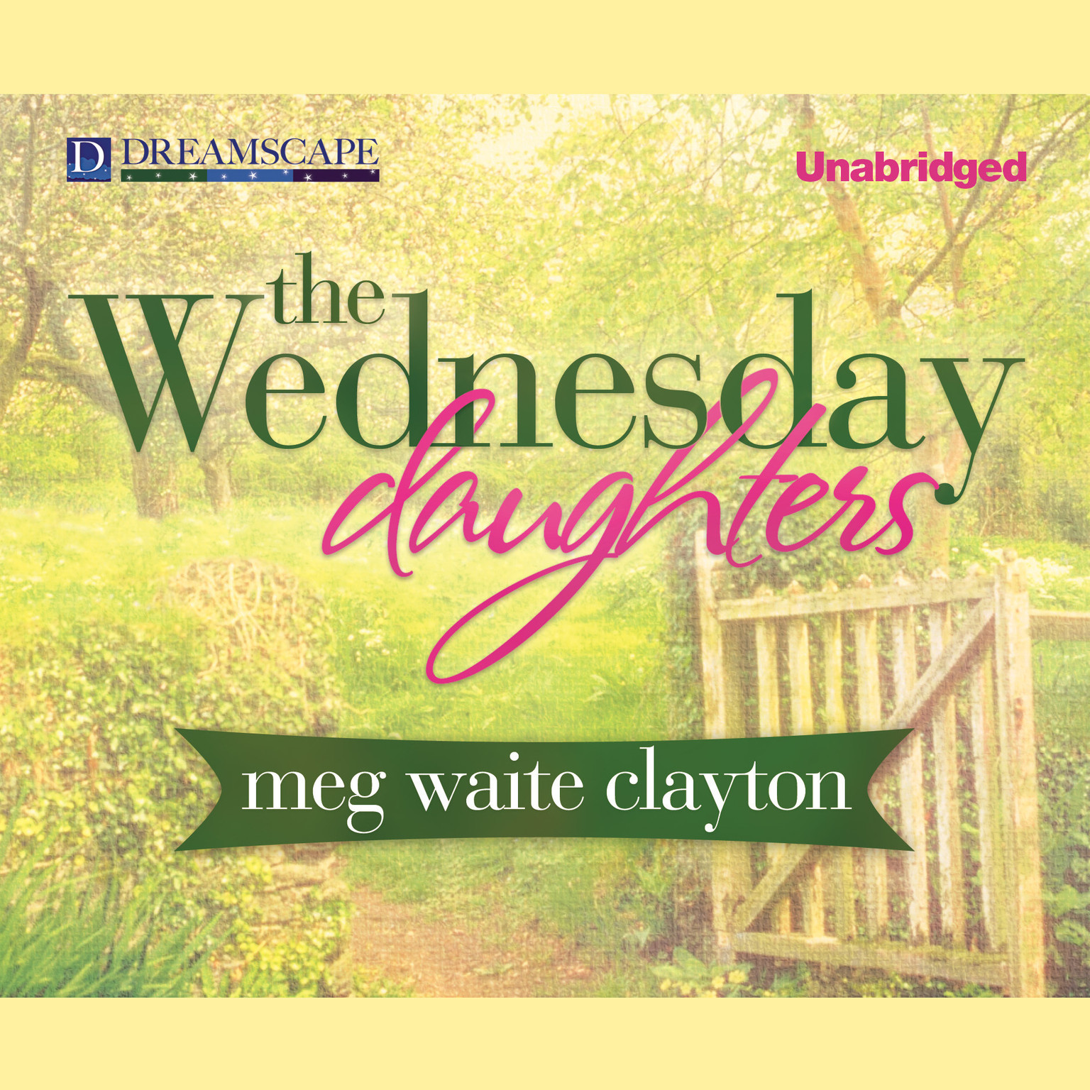 Printable The Wednesday Daughters Audiobook Cover Art