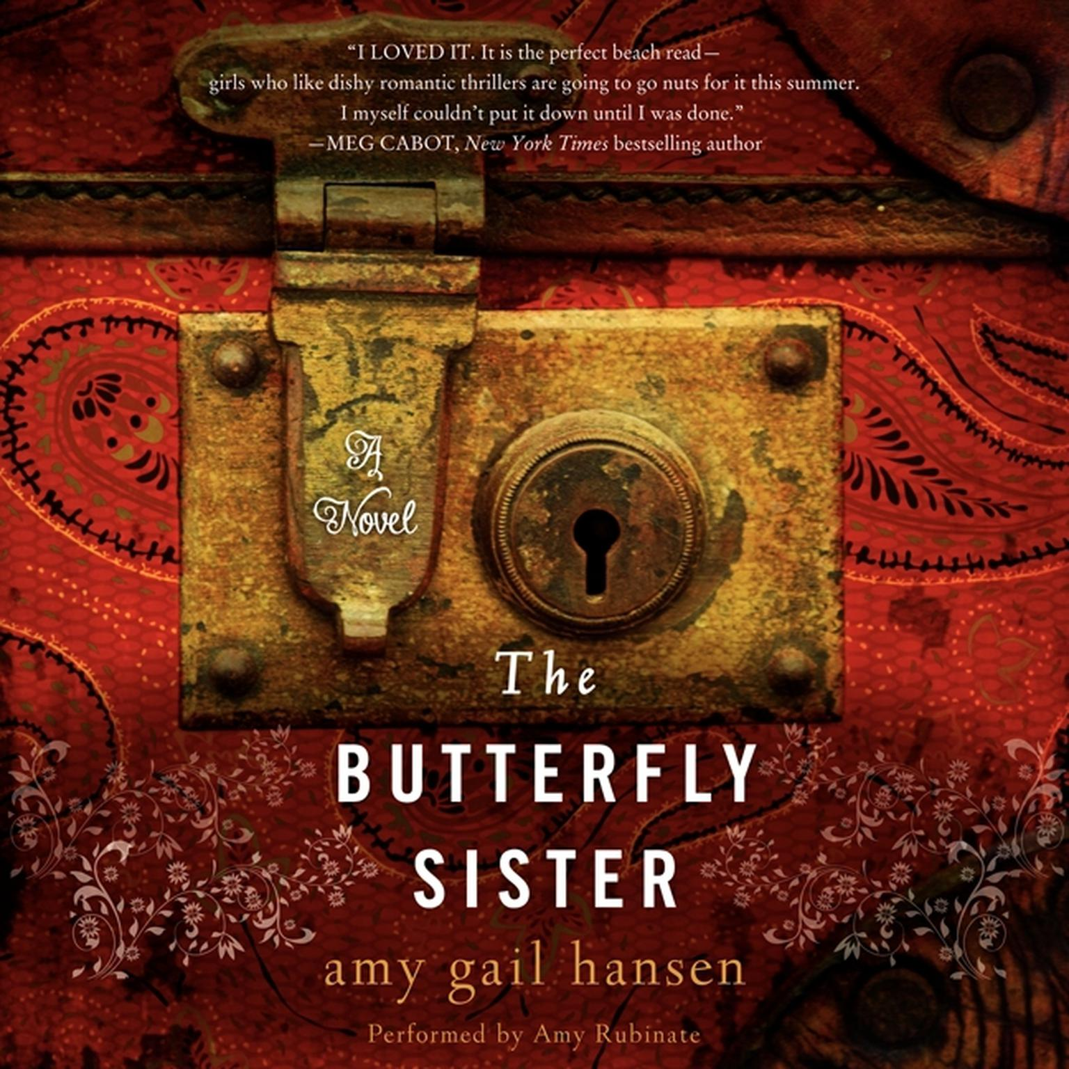 Printable The Butterfly Sister Audiobook Cover Art