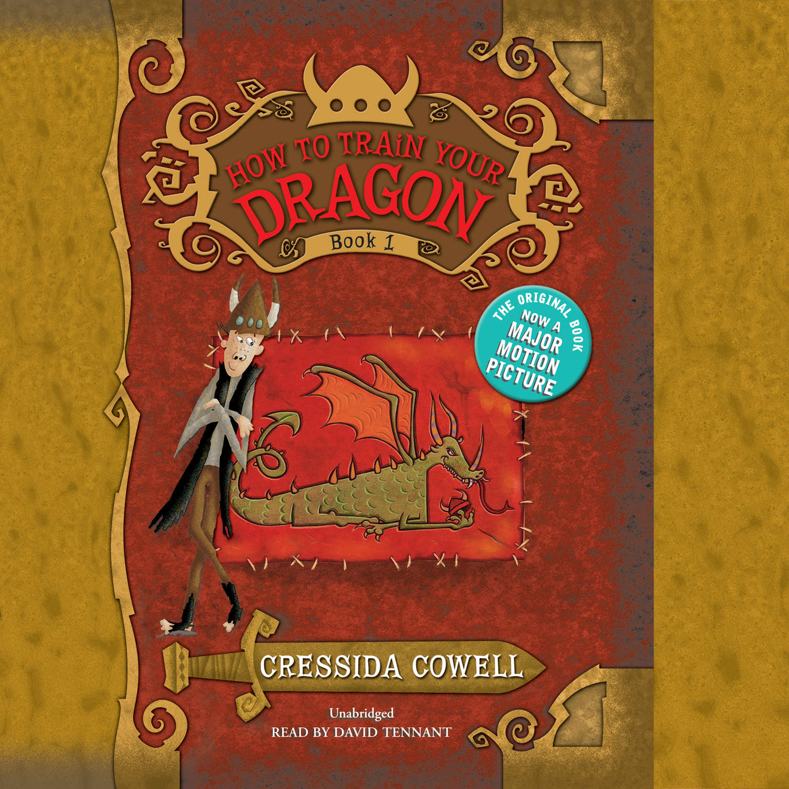 Printable How to Train Your Dragon Audiobook Cover Art