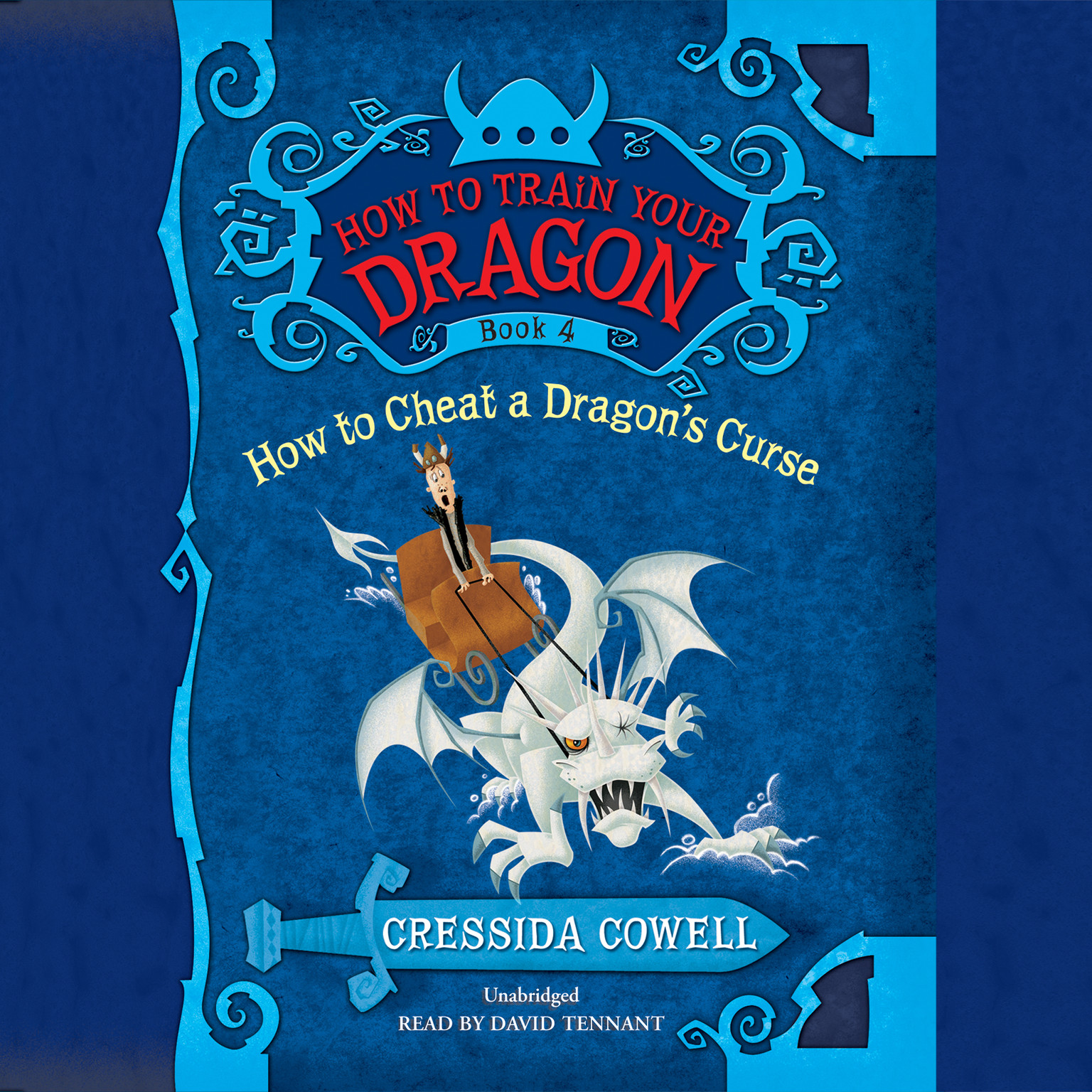 Printable How to Cheat a Dragon's Curse Audiobook Cover Art