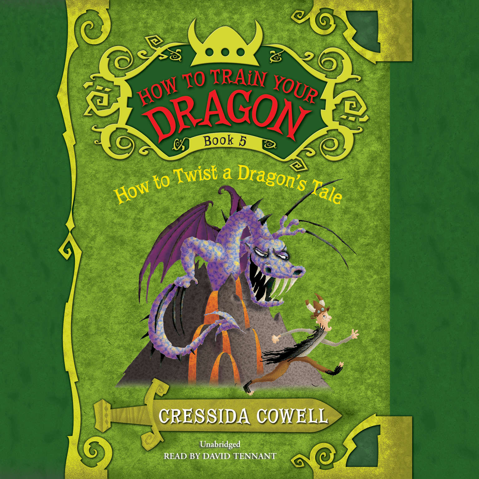 Printable How to Twist a Dragon's Tale Audiobook Cover Art
