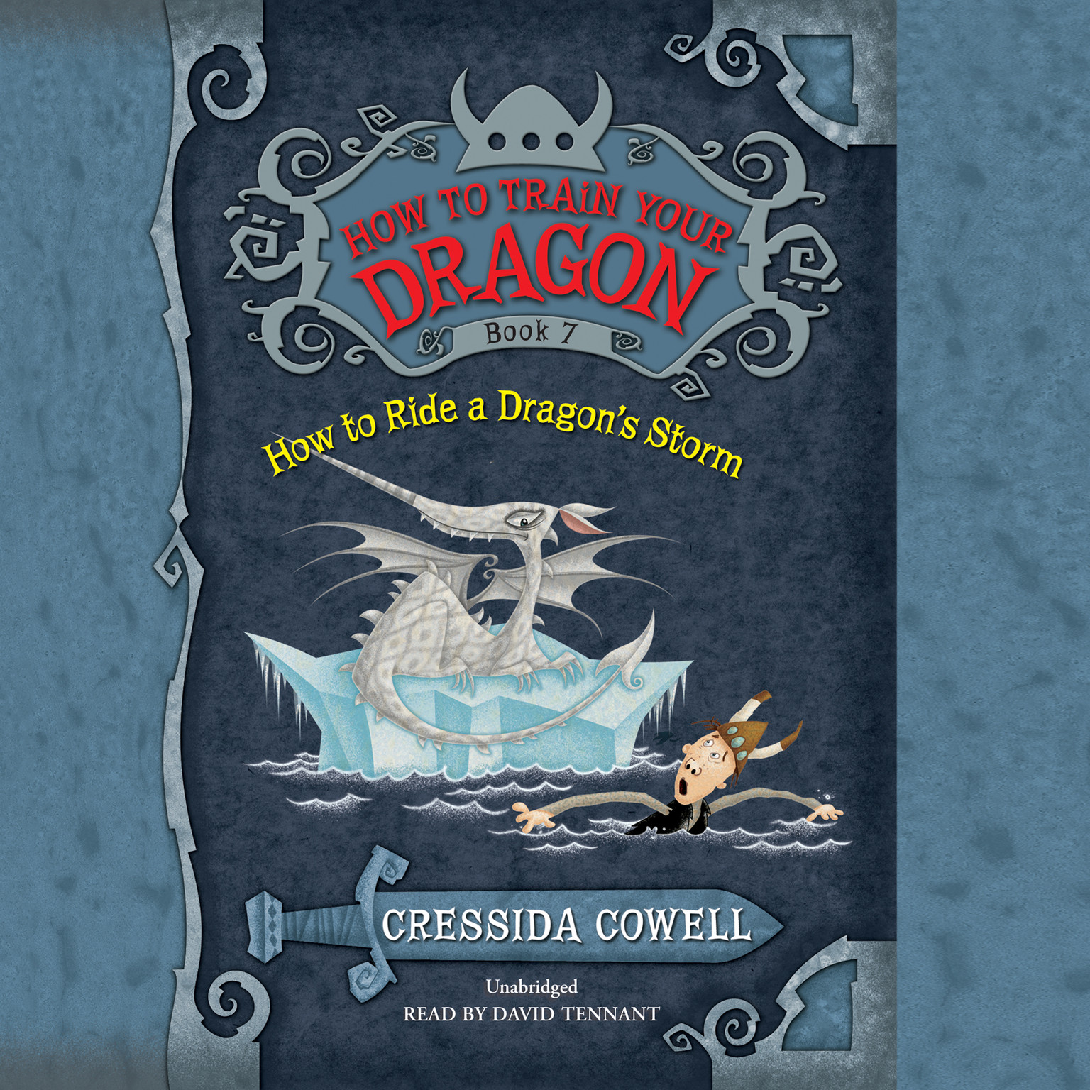Printable How to Ride a Dragon's Storm Audiobook Cover Art