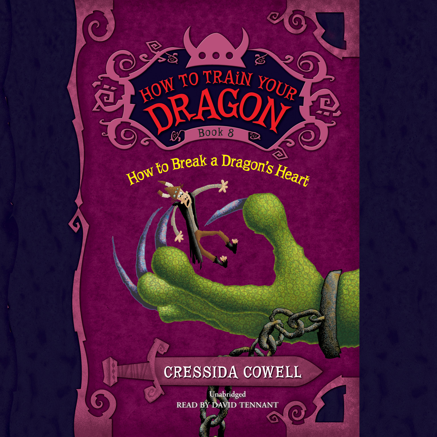 Printable How to Break a Dragon's Heart Audiobook Cover Art
