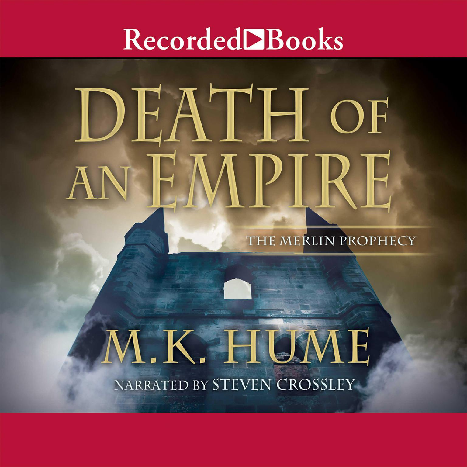 Printable Death of an Empire Audiobook Cover Art