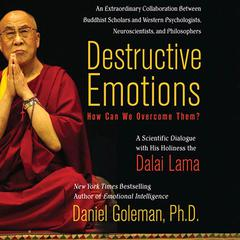 Destructive Emotions: How Can We Overcome Them?: A Scientific Dialogue with the Dalai Lama Audiobook, by The Dalai Lama, Daniel Goleman, Ph.D.