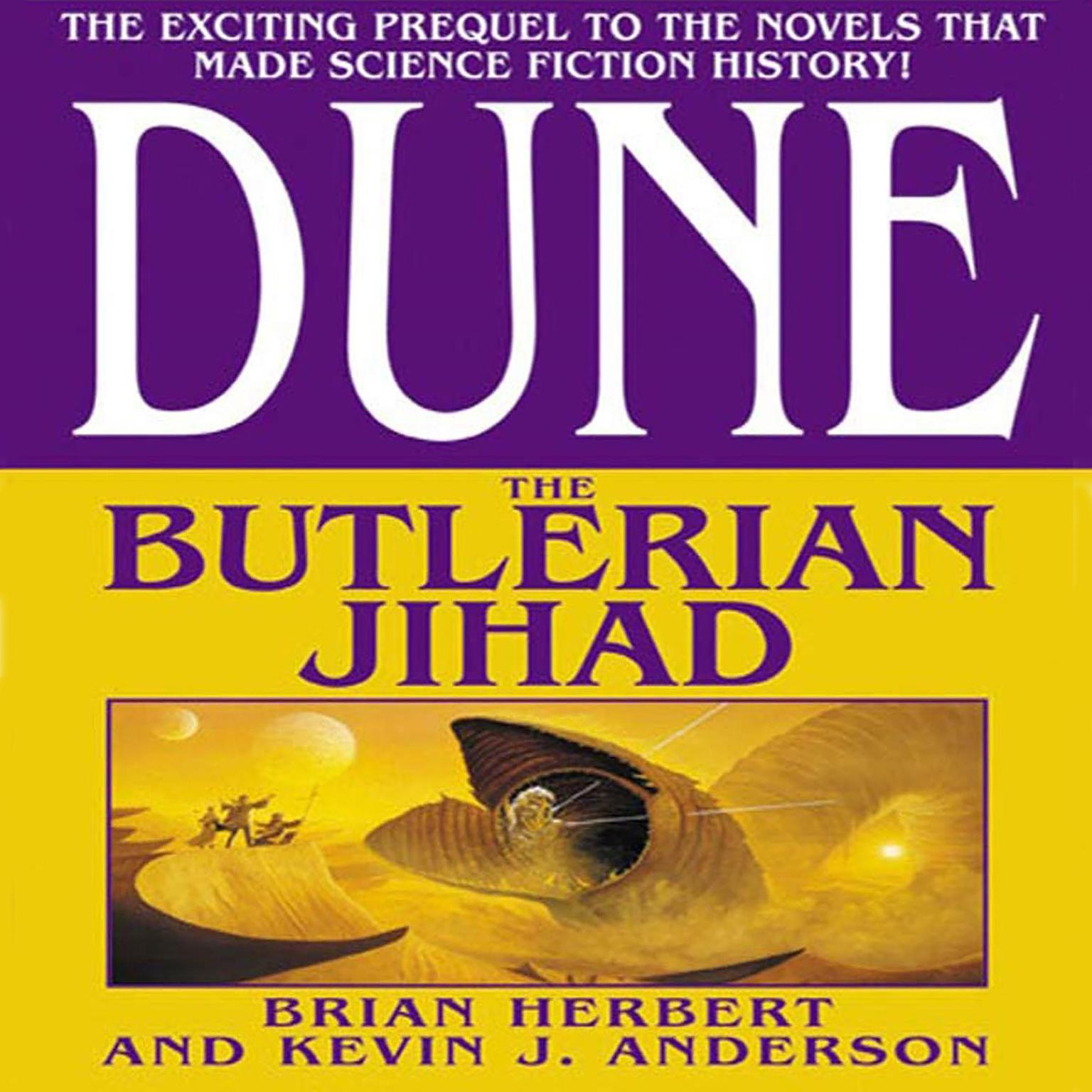 Printable Dune: The Butlerian Jihad: Book One of the Legends of Dune Trilogy Audiobook Cover Art