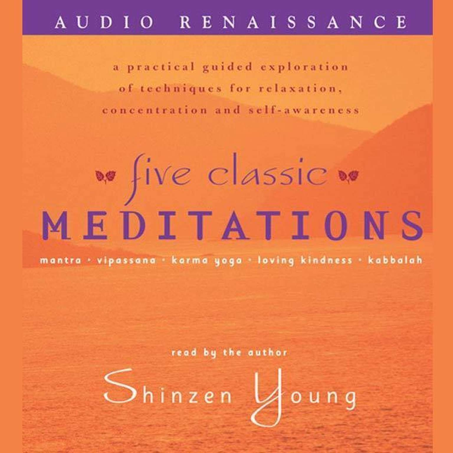 Printable Five Classic Meditations: A Practical Guided Exploration of Techniques for Relaxation, Concentration and Self-Awareness Audiobook Cover Art