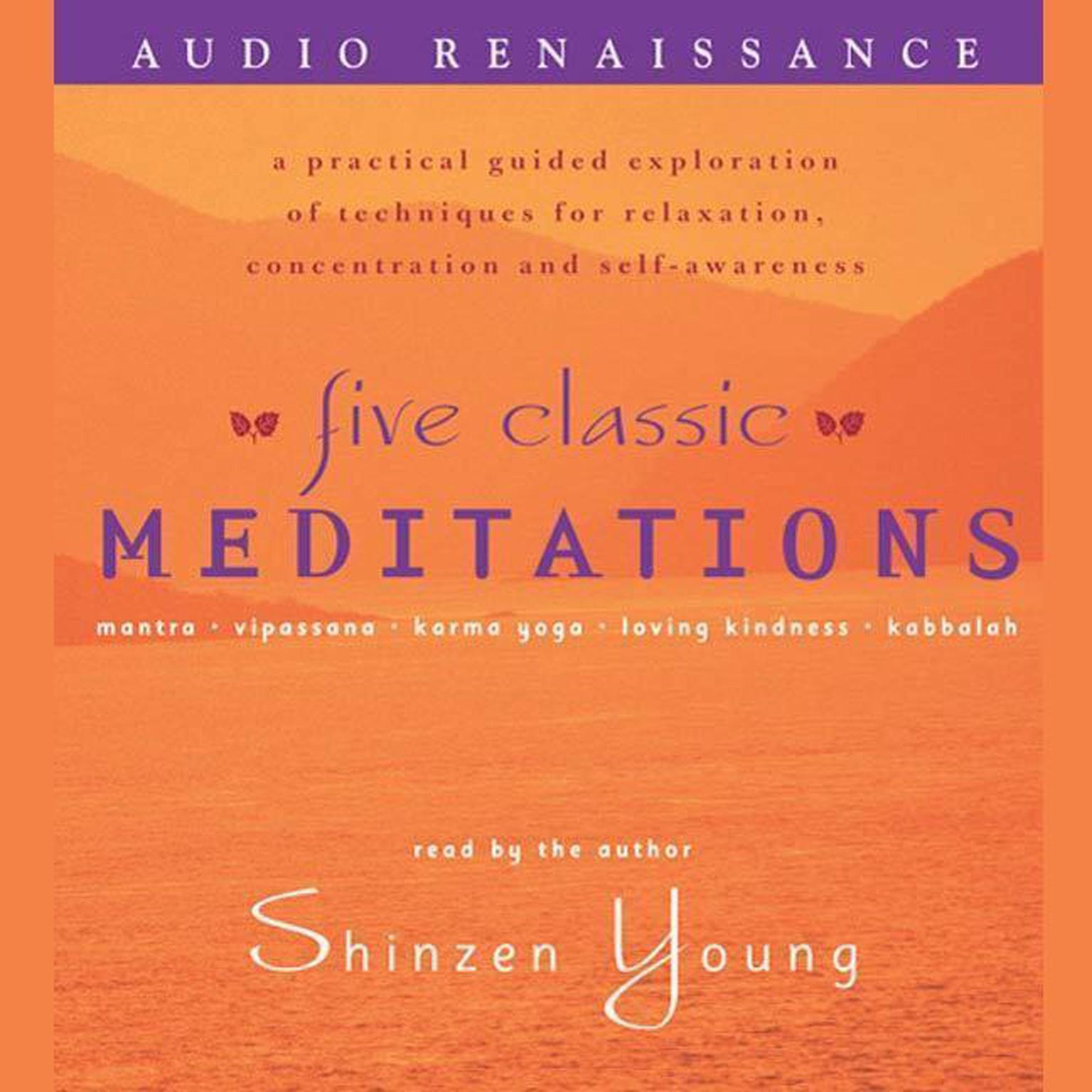 Printable Five Classic Meditations Audiobook Cover Art