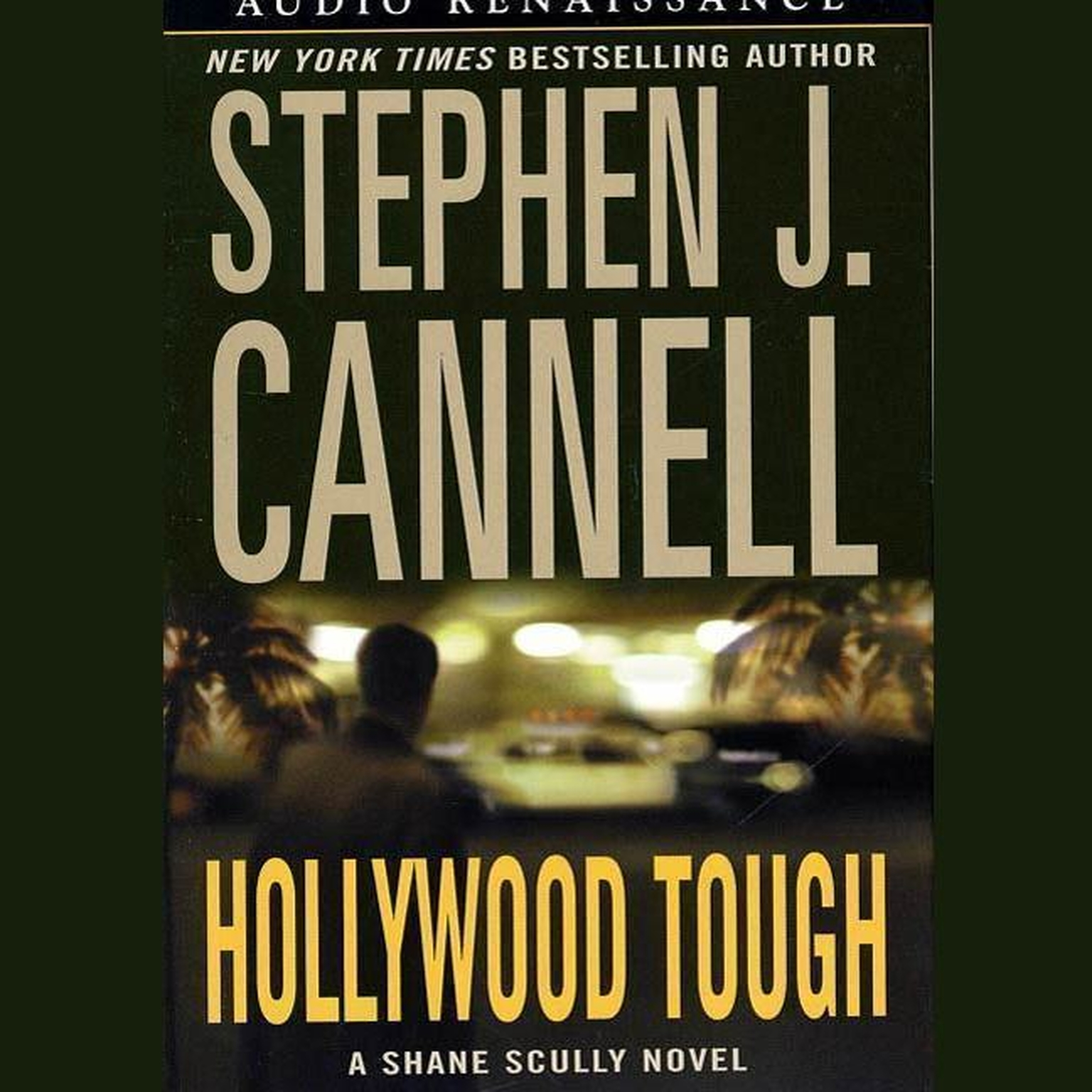 Printable Hollywood Tough Audiobook Cover Art