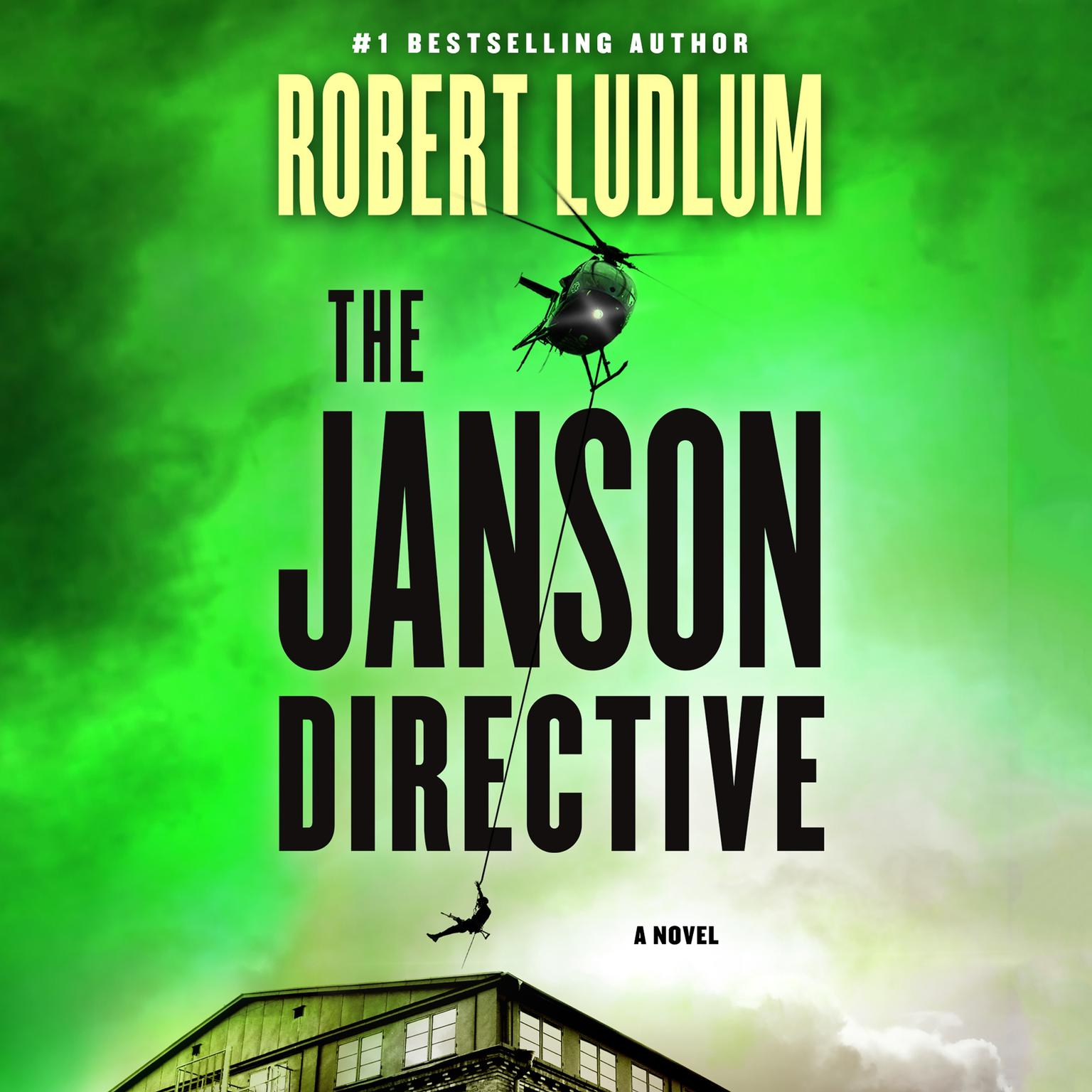 Printable The Janson Directive: A Novel Audiobook Cover Art
