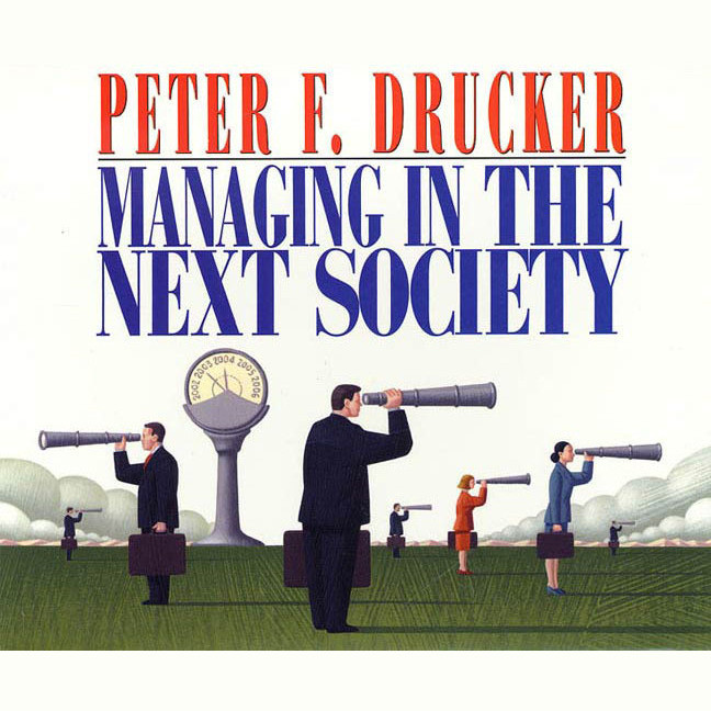 Printable Managing in the Next Society Audiobook Cover Art
