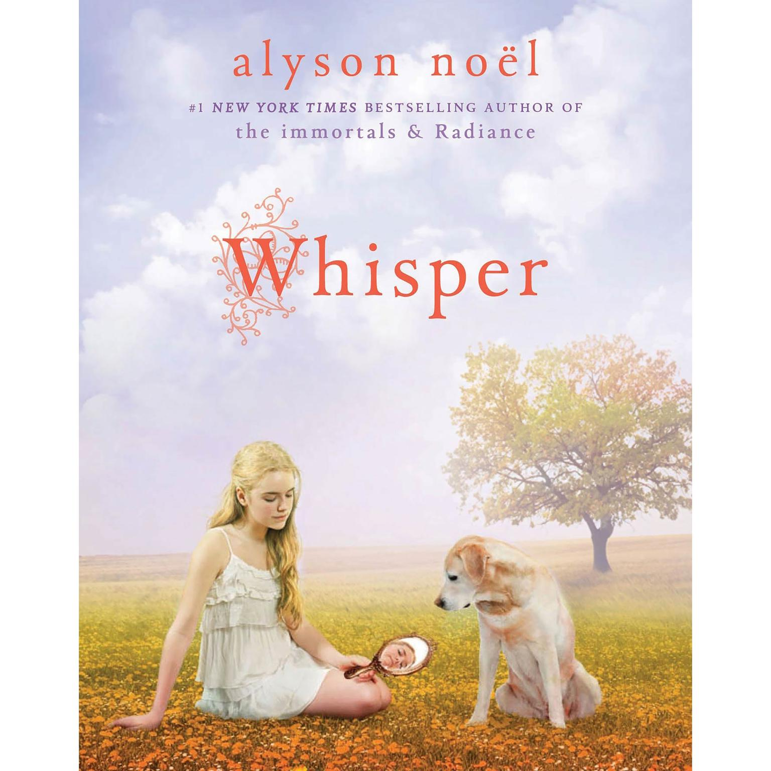 Printable Whisper: A Riley Bloom Book Audiobook Cover Art