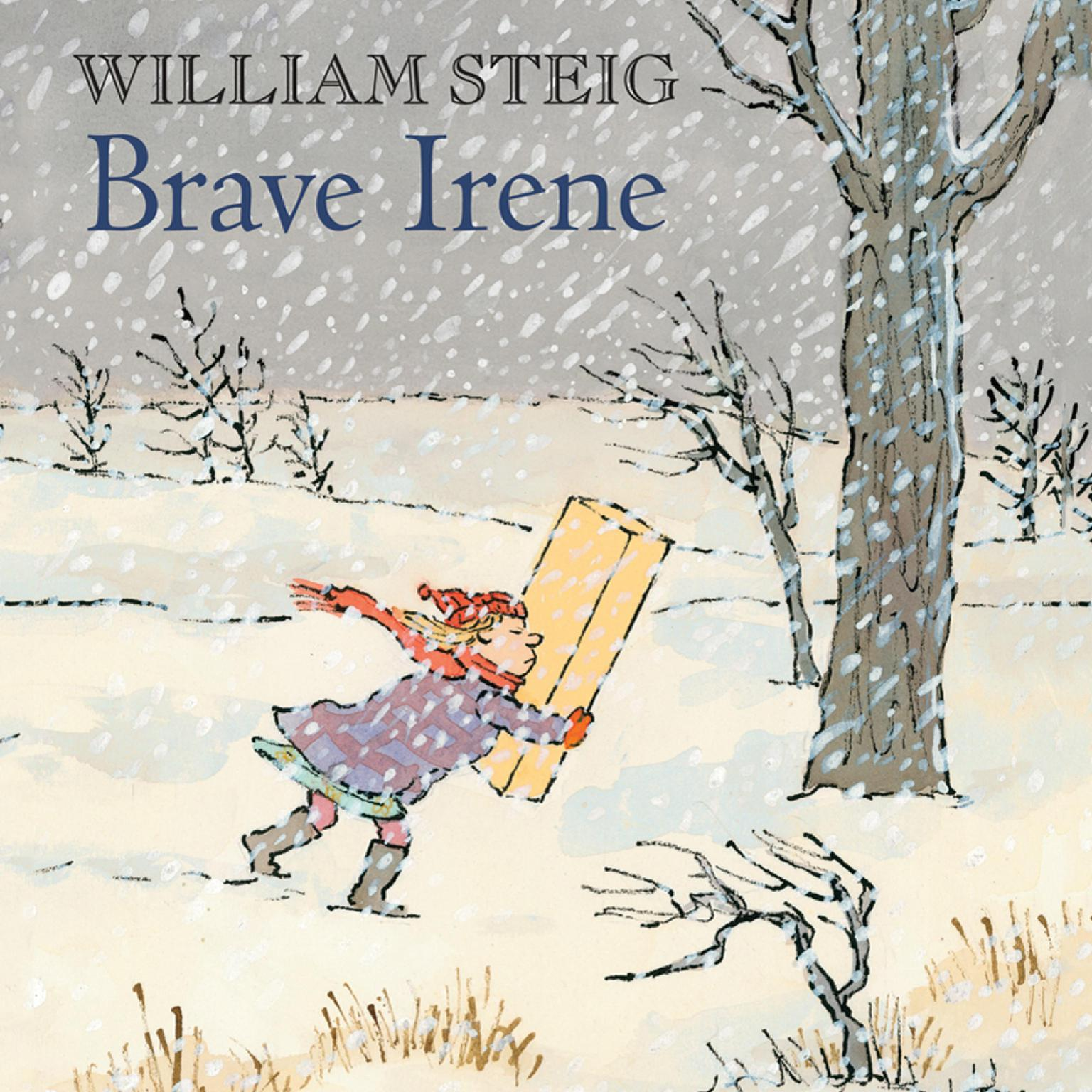 Printable Brave Irene: A Picture Book Audiobook Cover Art