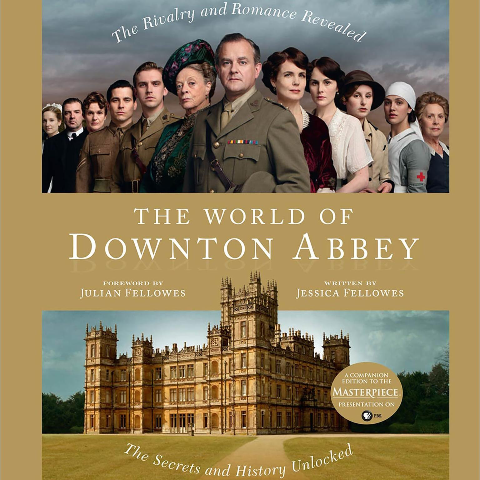 Printable The World of Downton Abbey Audiobook Cover Art