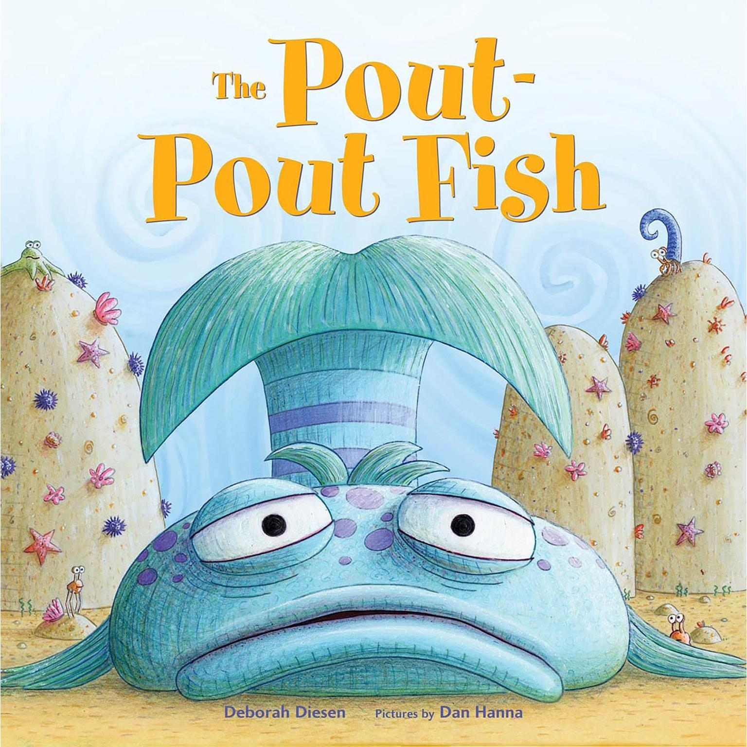 Printable The Pout-Pout Fish Audiobook Cover Art