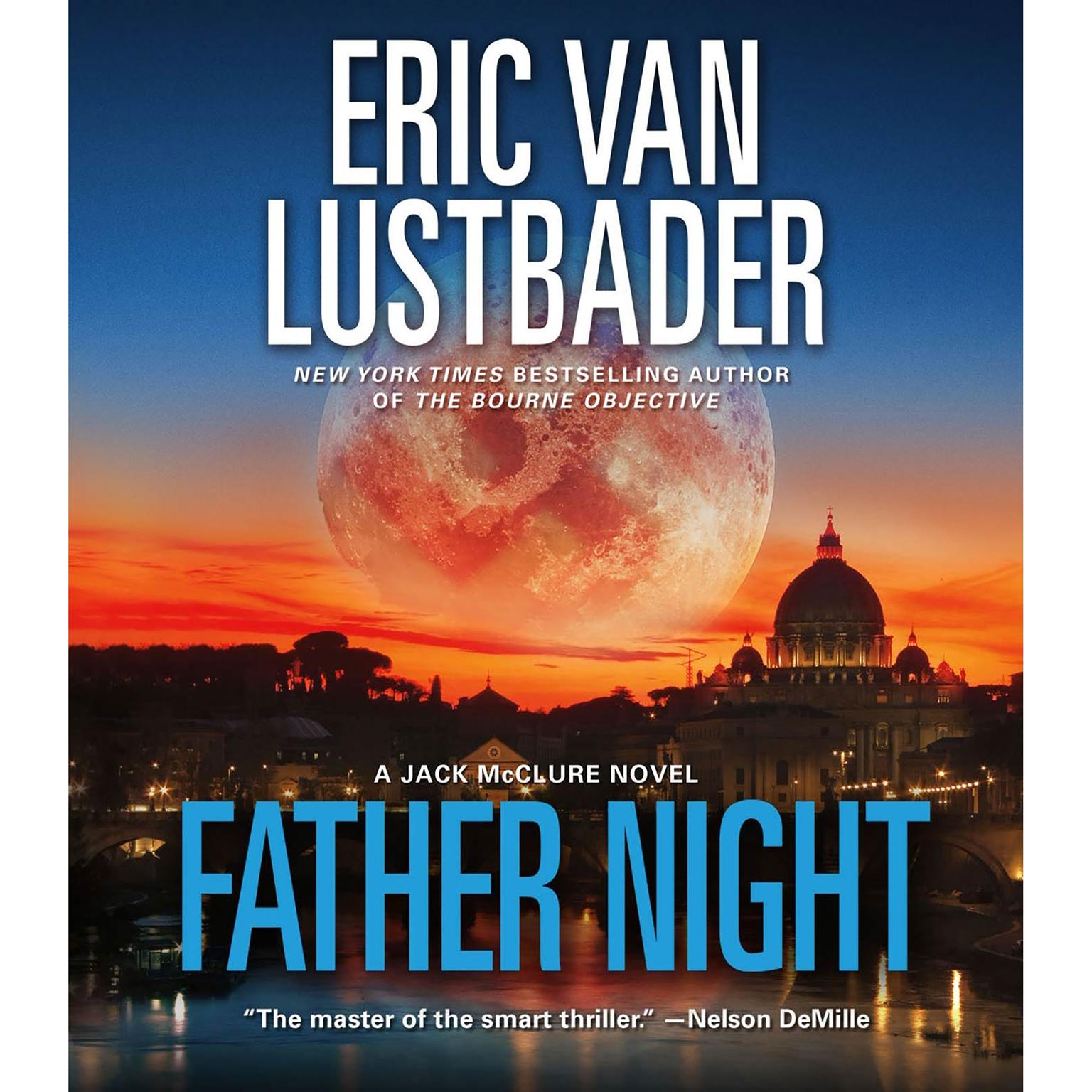 Printable Father Night: A McClure/Carson Novel Audiobook Cover Art