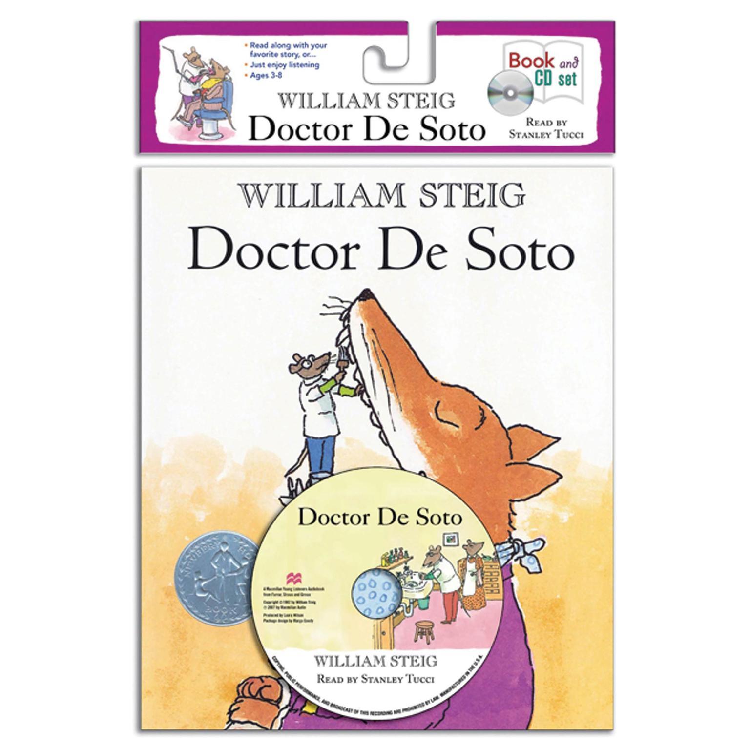 Printable Doctor De Soto Audiobook Cover Art