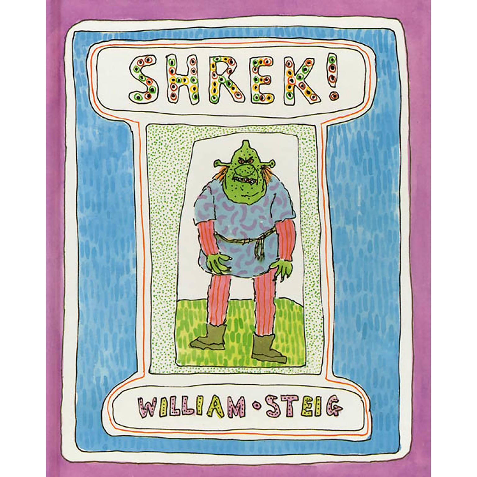 Printable Shrek! Audiobook Cover Art