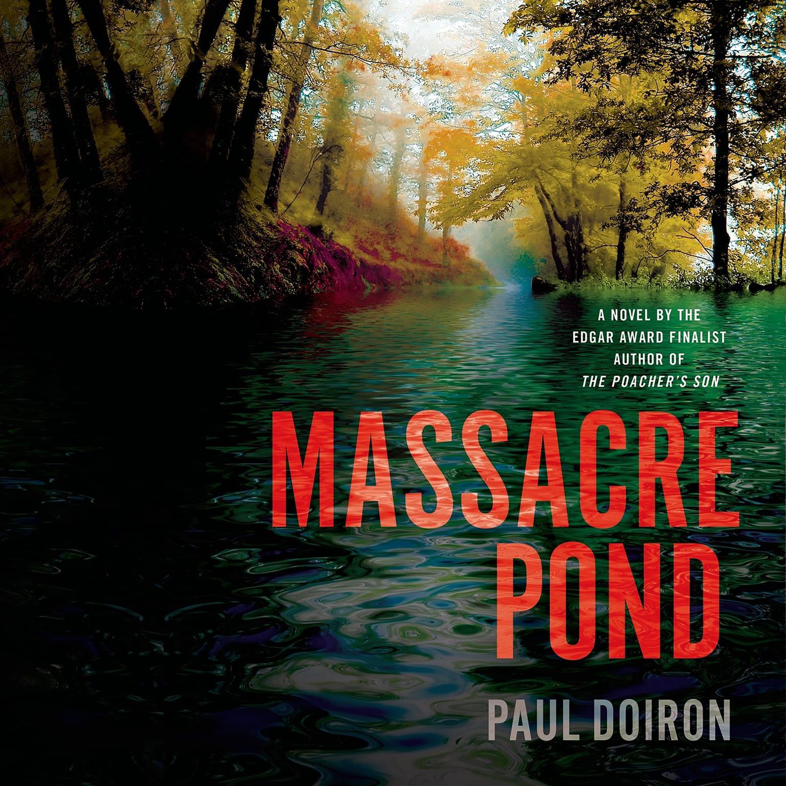 Printable Massacre Pond: A Novel Audiobook Cover Art