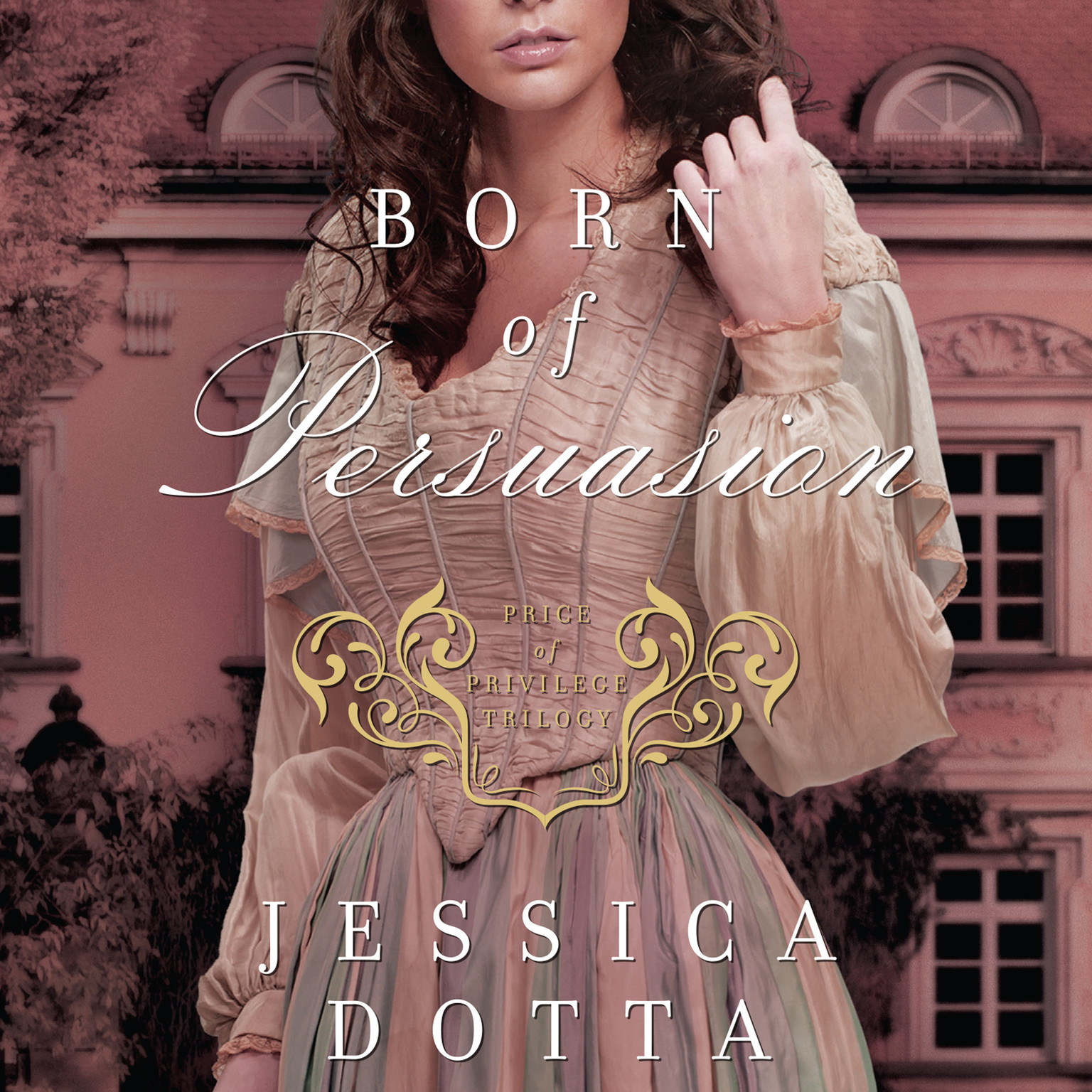 Printable Born of Persuasion Audiobook Cover Art